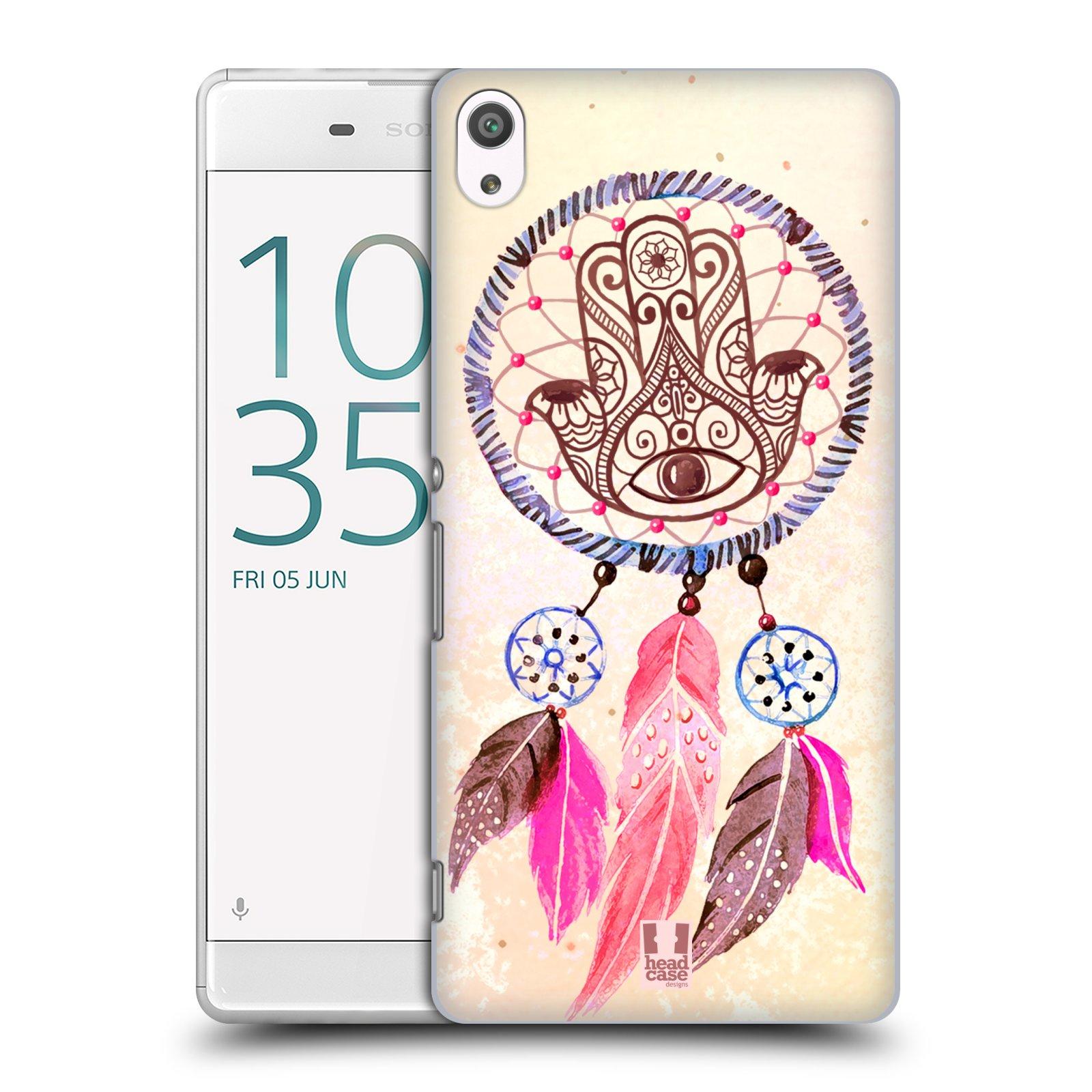 Plastové pouzdro na mobil Sony Xperia XA Ultra HEAD CASE Lapač Assorted Hamsa