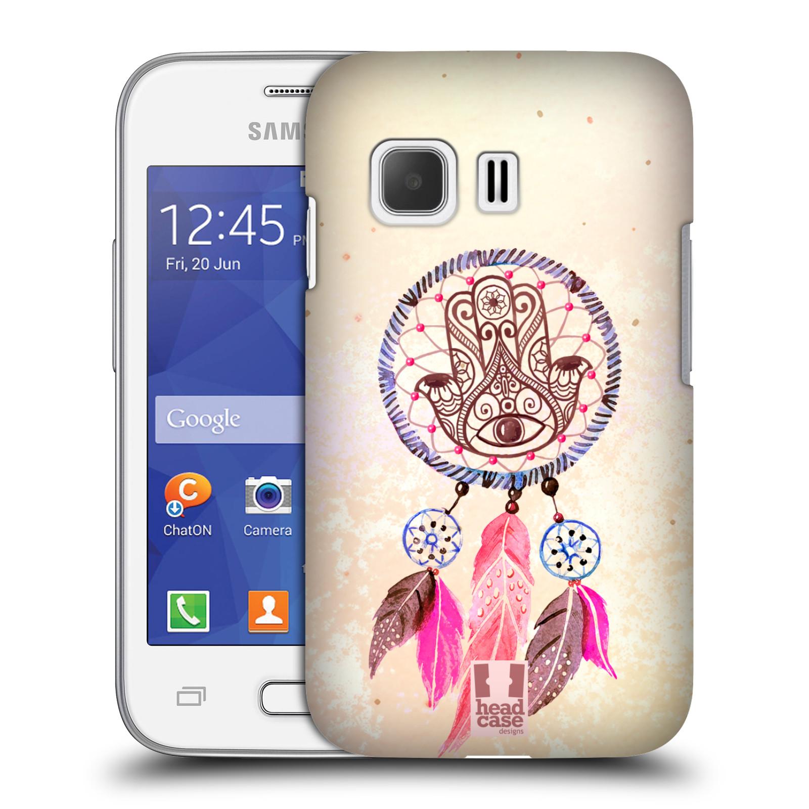 Plastové pouzdro na mobil Samsung Galaxy Young 2 HEAD CASE Lapač Assorted Hamsa (Kryt či obal na mobilní telefon Samsung Galaxy Young 2 SM-G130)