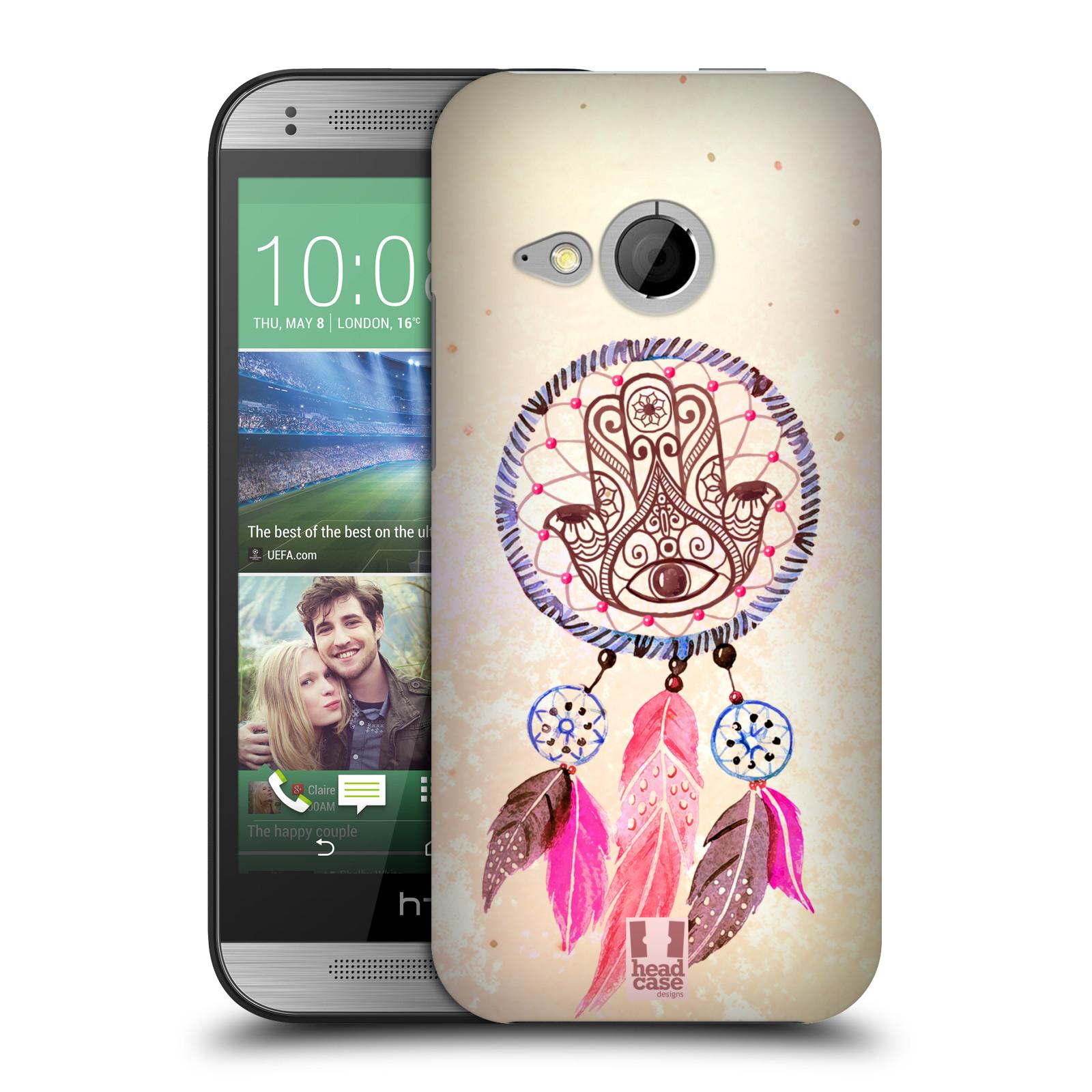 Plastové pouzdro na mobil HTC ONE Mini 2 HEAD CASE Lapač Assorted Hamsa (Kryt či obal na mobilní telefon HTC ONE Mini 2)