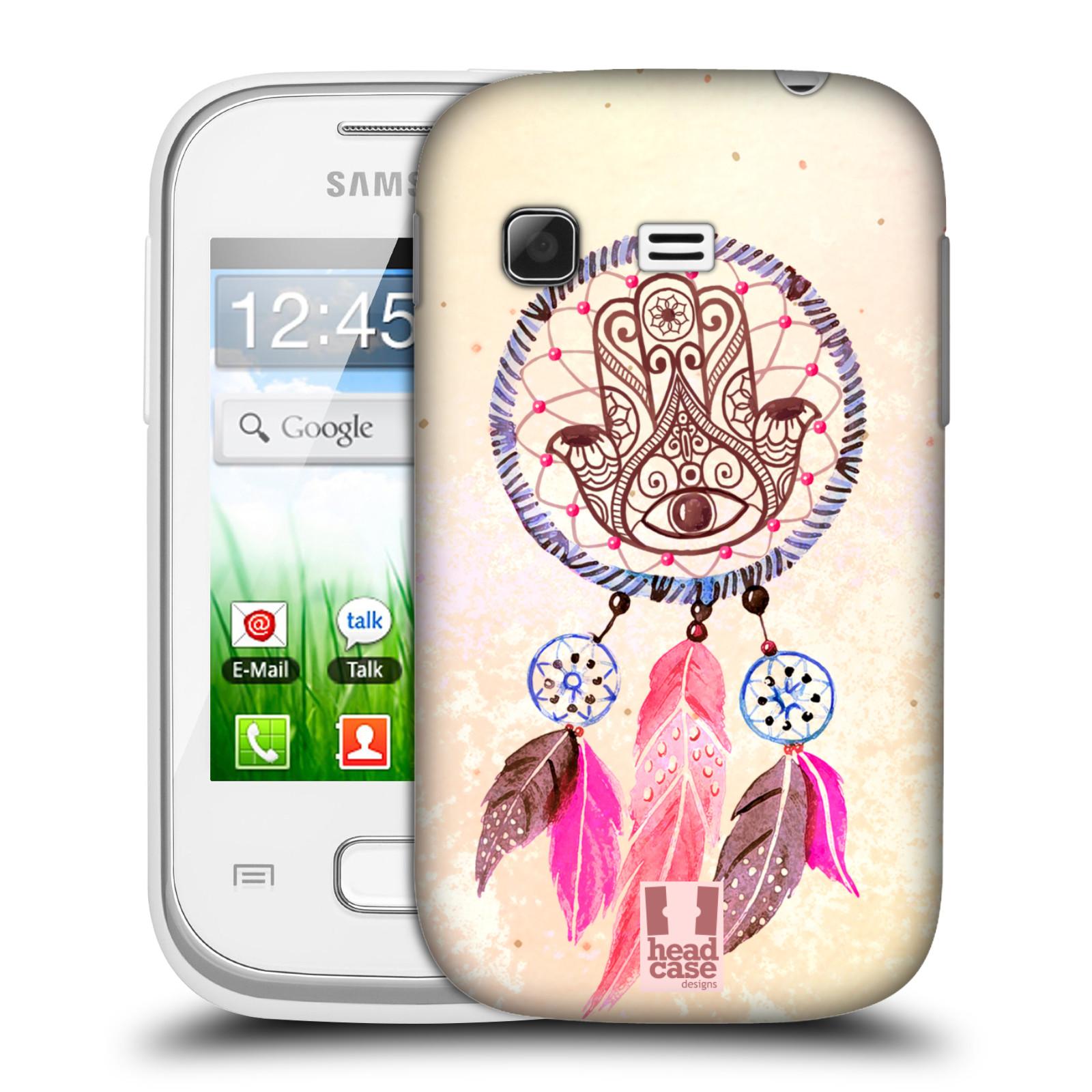 Plastové pouzdro na mobil Samsung Galaxy Pocket HEAD CASE Lapač Assorted Hamsa (Kryt či obal na mobilní telefon Samsung Galaxy Pocket GT-S5300)