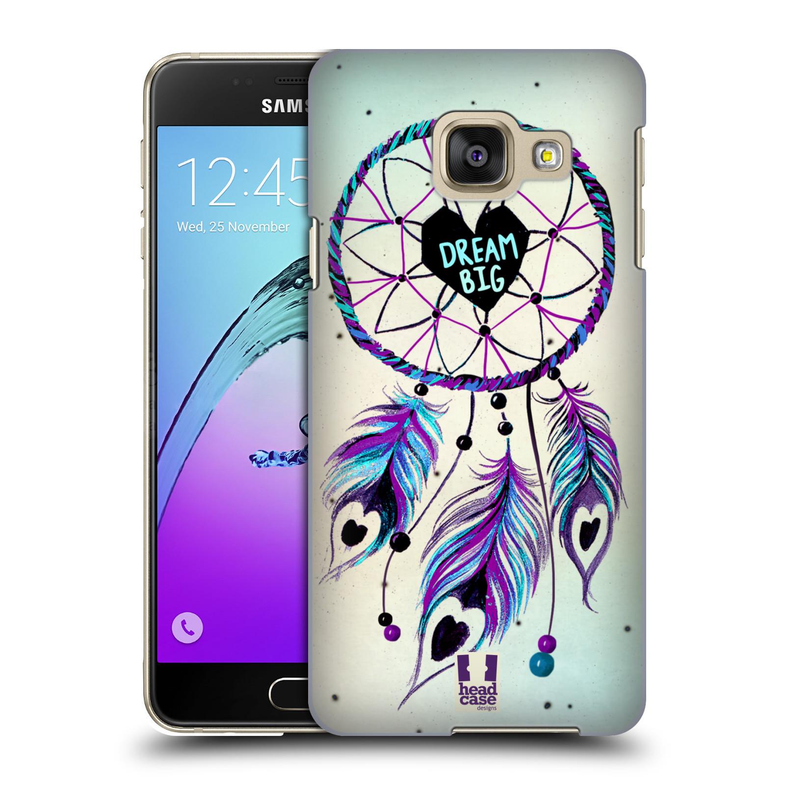 Plastové pouzdro na mobil Samsung Galaxy A3 (2016) HEAD CASE Lapač Assorted Dream Big Srdce