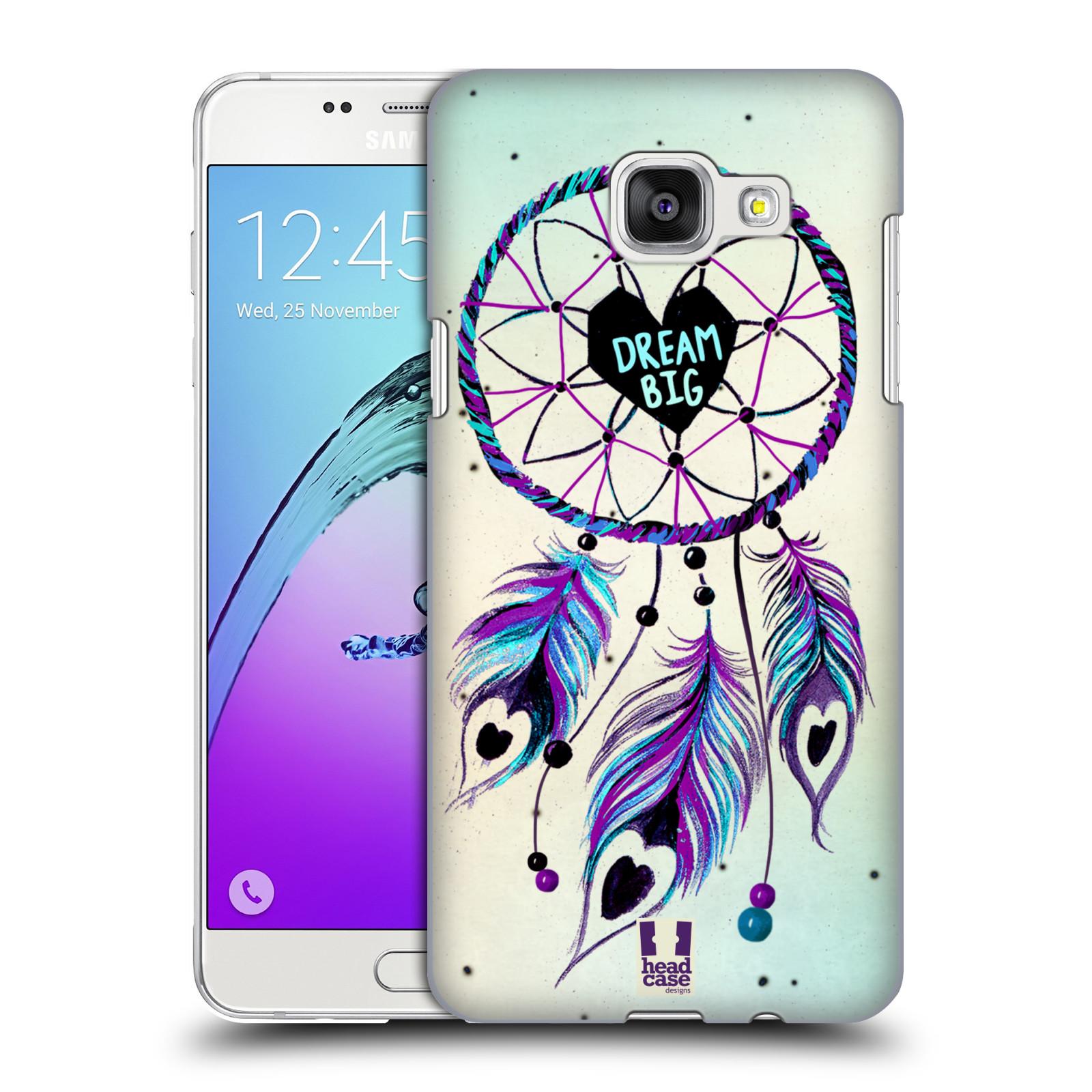 Plastové pouzdro na mobil Samsung Galaxy A5 (2016) HEAD CASE Lapač Assorted Dream Big Srdce