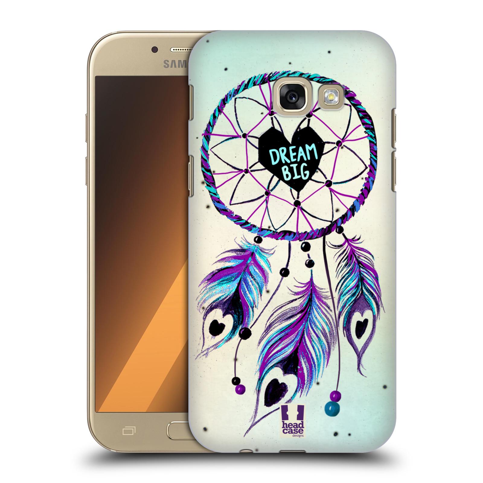 Plastové pouzdro na mobil Samsung Galaxy A5 (2017) HEAD CASE Lapač Assorted Dream Big Srdce