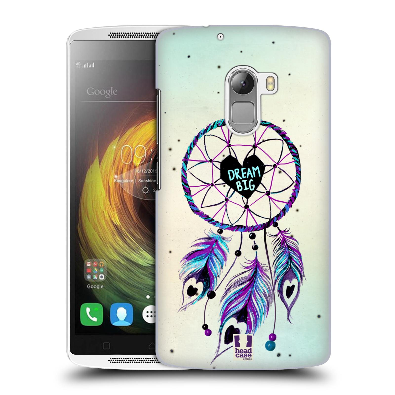 Plastové pouzdro na mobil Lenovo A7010 HEAD CASE Lapač Assorted Dream Big Srdce