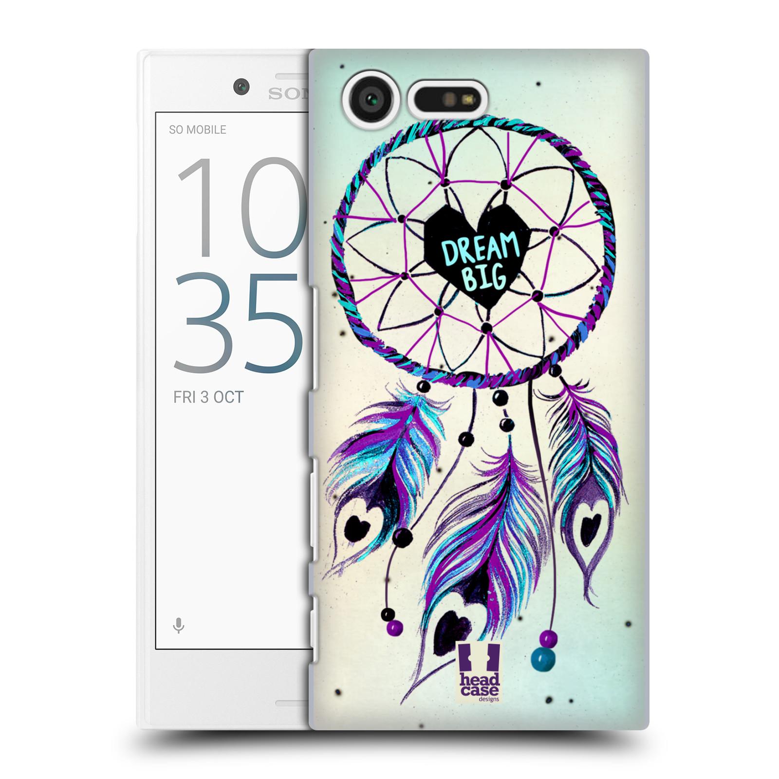 Plastové pouzdro na mobil Sony Xperia X Compact HEAD CASE Lapač Assorted Dream Big Srdce