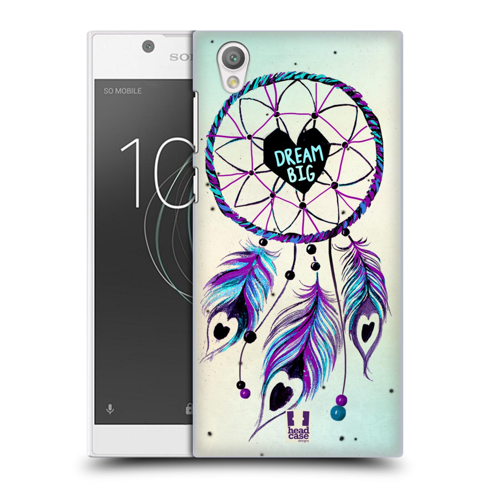 Plastové pouzdro na mobil Sony Xperia L1 - Head Case - Lapač Assorted Dream Big Srdce