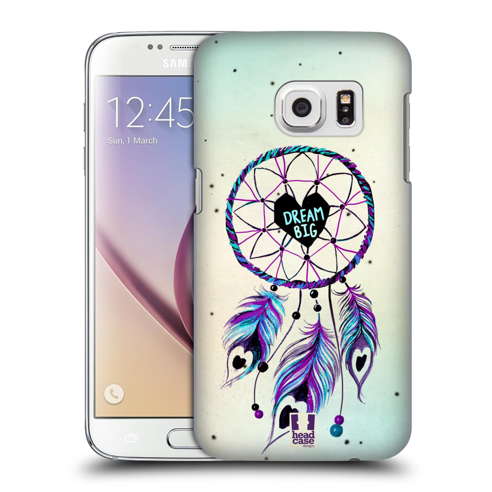 Plastové pouzdro na mobil Samsung Galaxy S7 HEAD CASE Lapač Assorted Dream Big Srdce