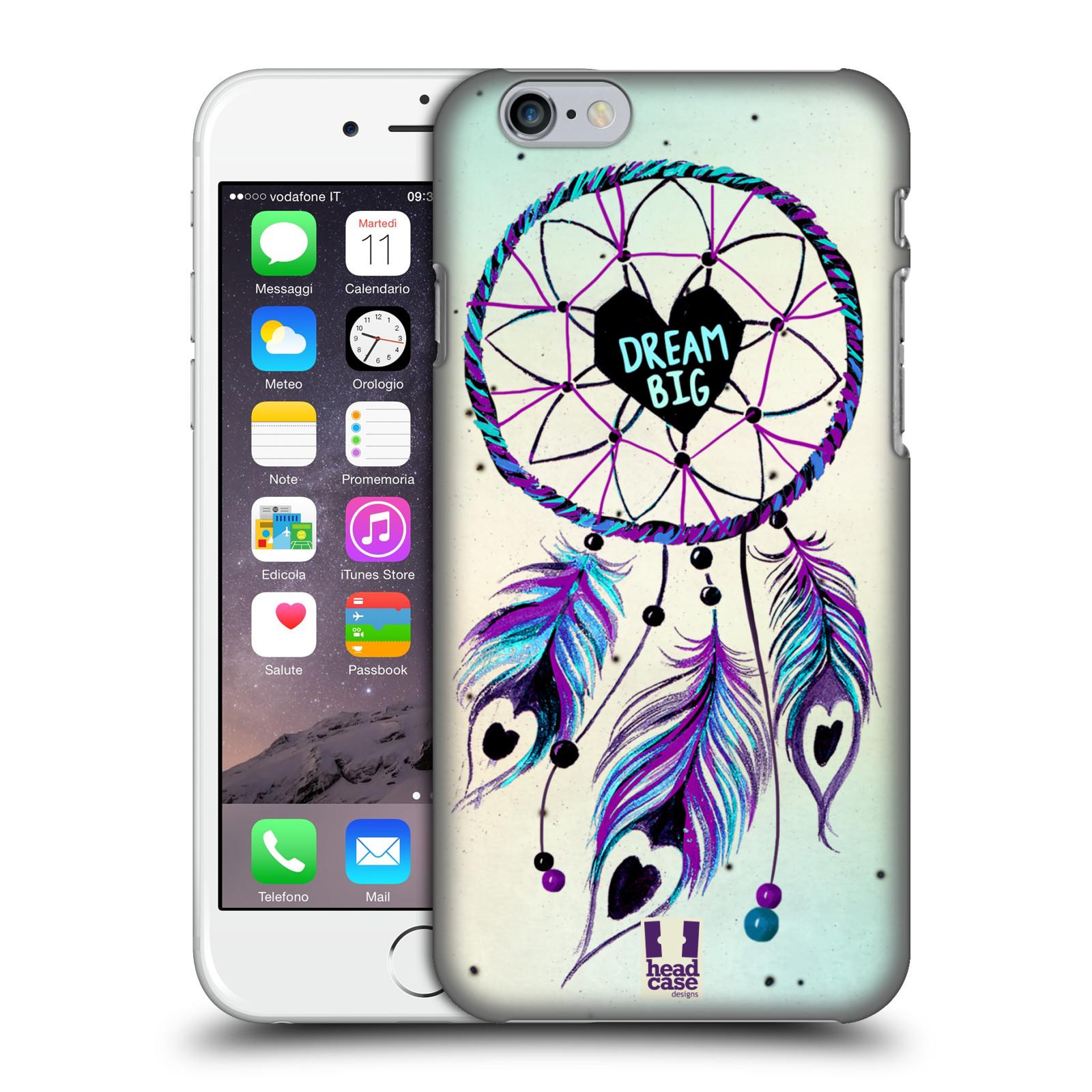 Plastové pouzdro na mobil Apple iPhone 6 HEAD CASE Lapač Assorted Dream Big Srdce