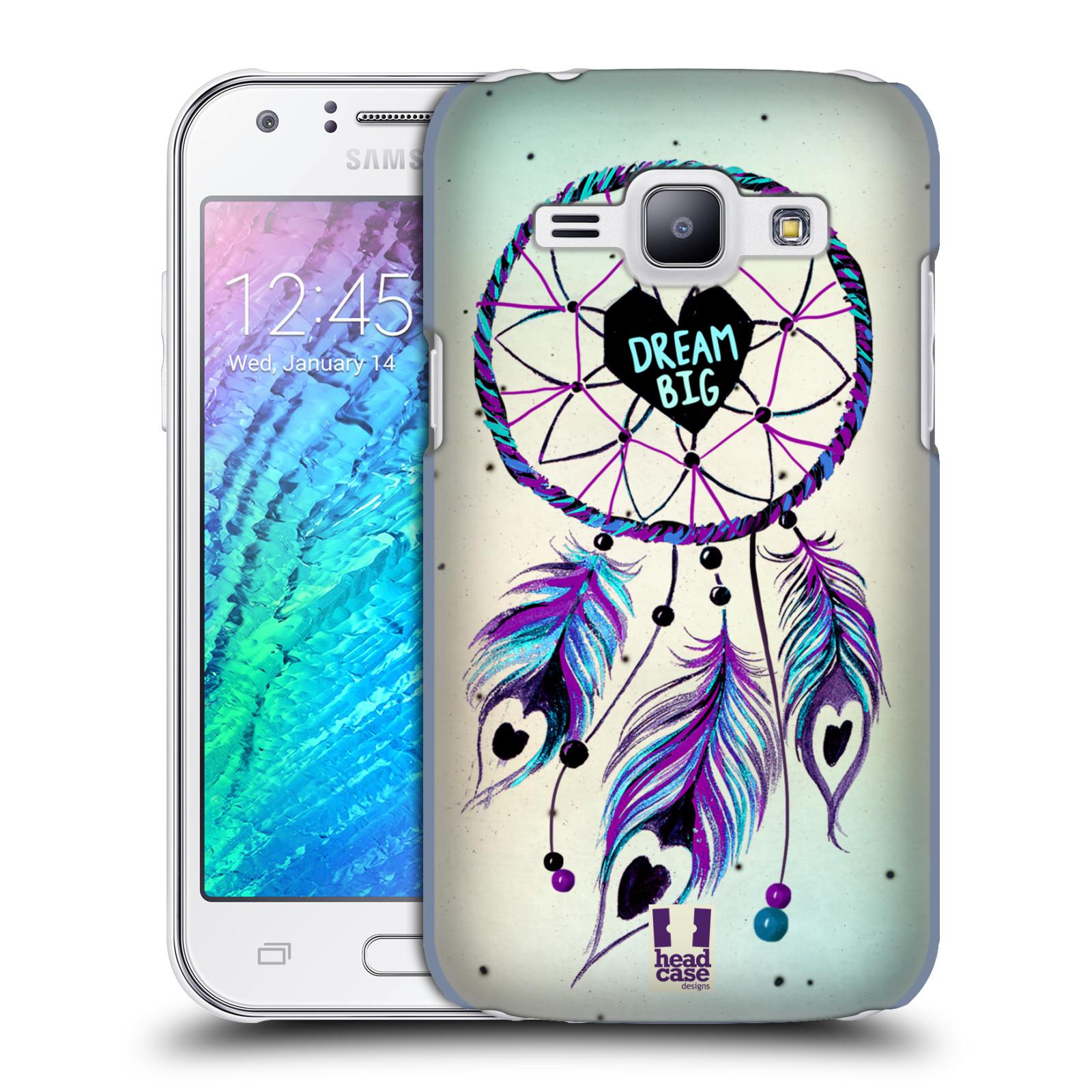 Plastové pouzdro na mobil Samsung Galaxy J1 HEAD CASE Lapač Assorted Dream Big Srdce (Kryt či obal na mobilní telefon Samsung Galaxy J1 a J1 Duos )