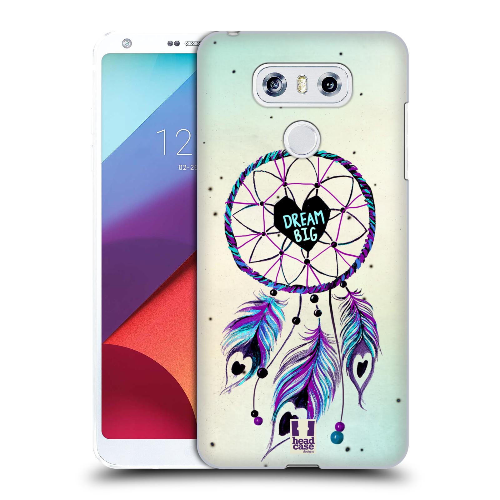 Plastové pouzdro na mobil LG G6 - Head Case Lapač Assorted Dream Big Srdce