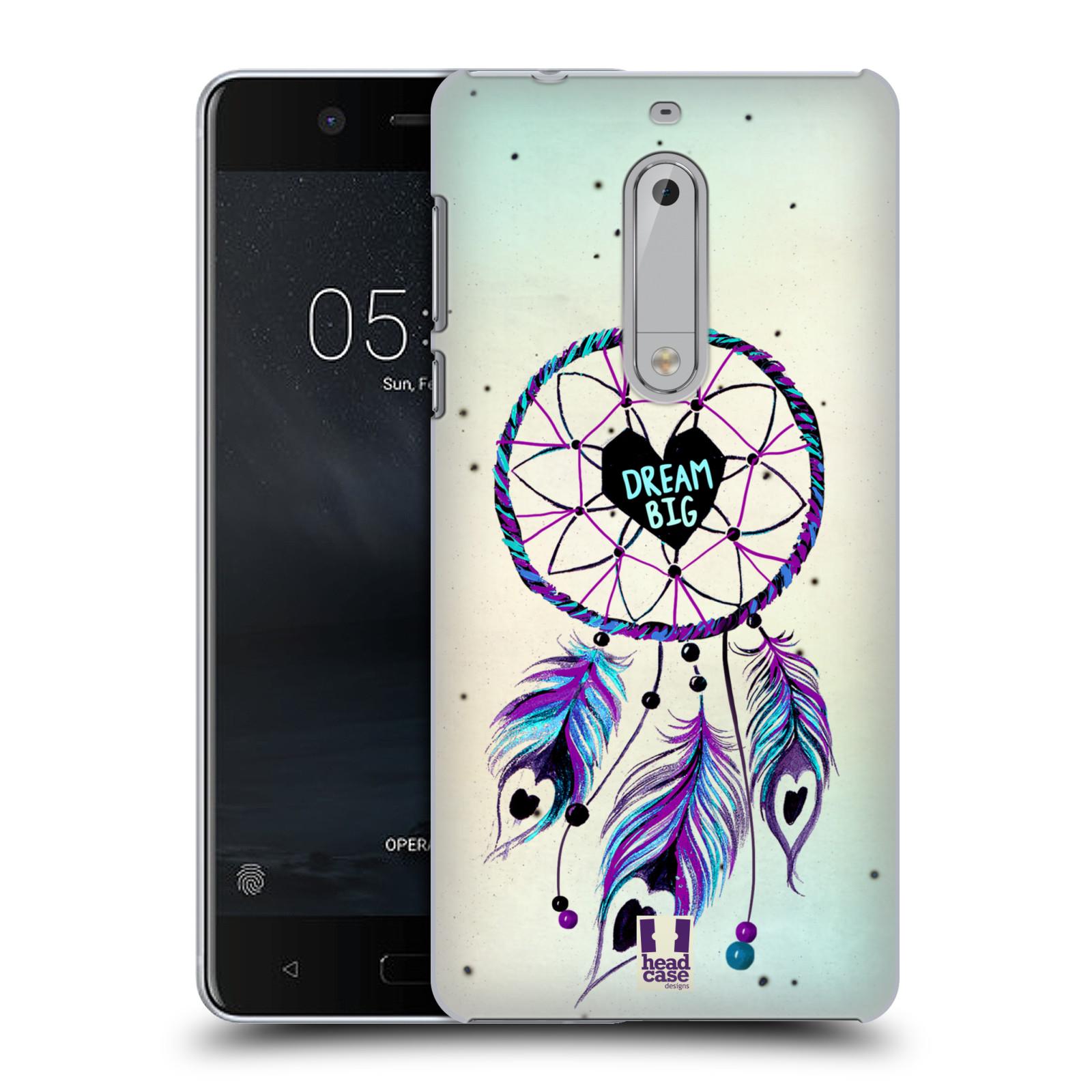 Plastové pouzdro na mobil Nokia 5 Head Case - Lapač Assorted Dream Big Srdce