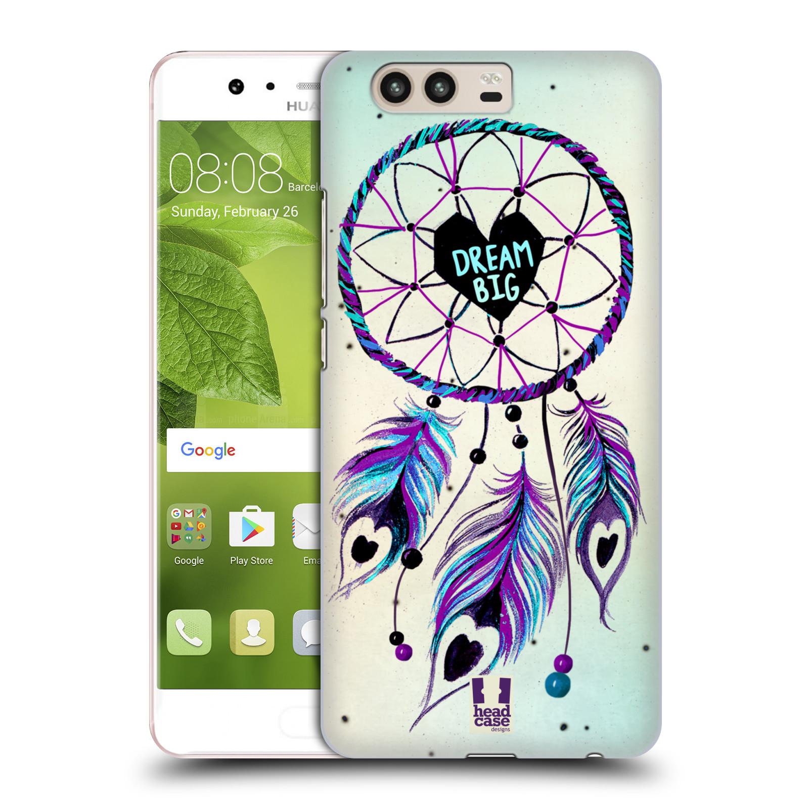 Plastové pouzdro na mobil Huawei P10 - Head Case Lapač Assorted Dream Big Srdce