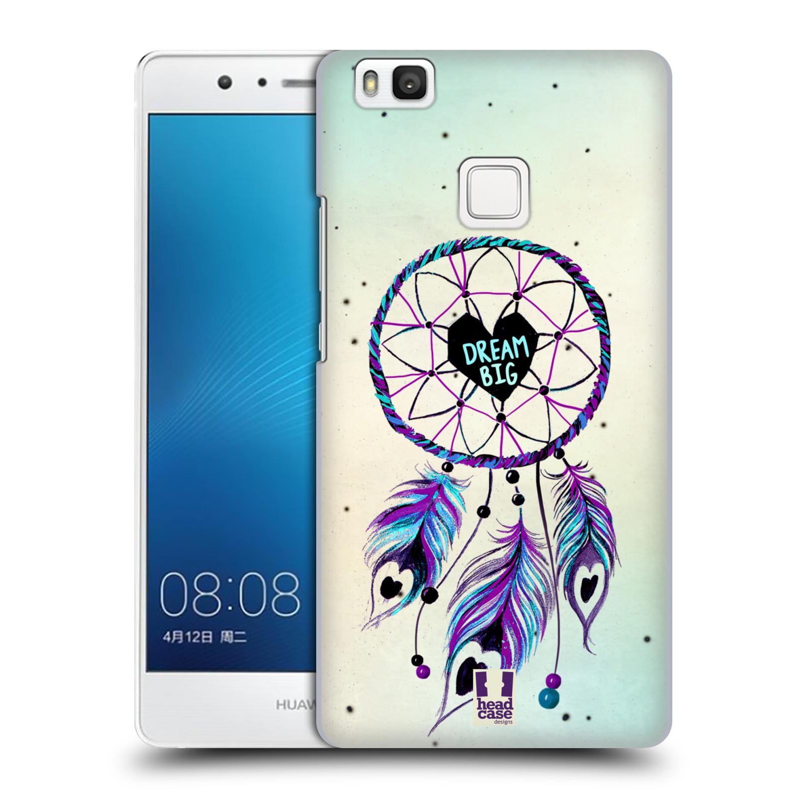 Plastové pouzdro na mobil Huawei P9 Lite HEAD CASE Lapač Assorted Dream Big Srdce