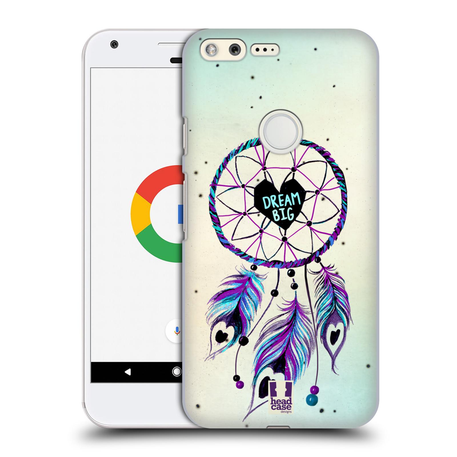 Plastové pouzdro na mobil Google Pixel HEAD CASE Lapač Assorted Dream Big Srdce