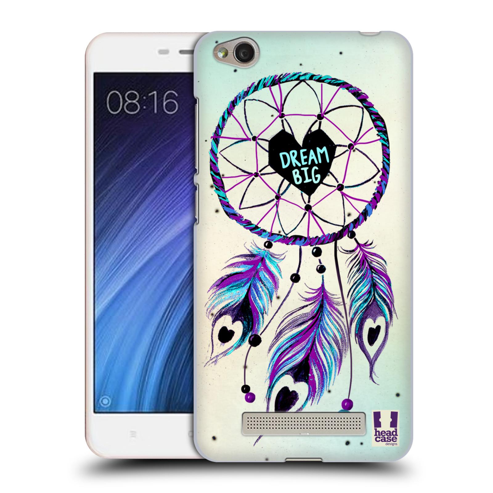 Plastové pouzdro na mobil Xiaomi Redmi 4A HEAD CASE Lapač Assorted Dream Big Srdce