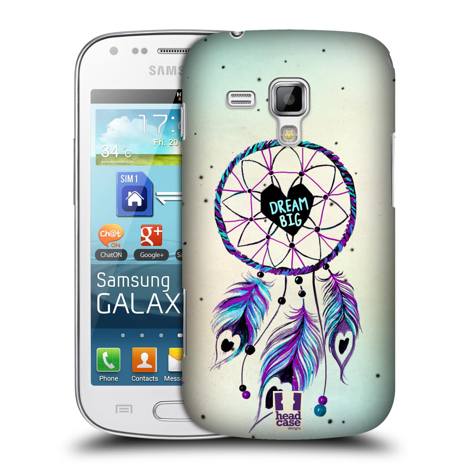 Plastové pouzdro na mobil Samsung Galaxy Trend Plus HEAD CASE Lapač Assorted Dream Big Srdce