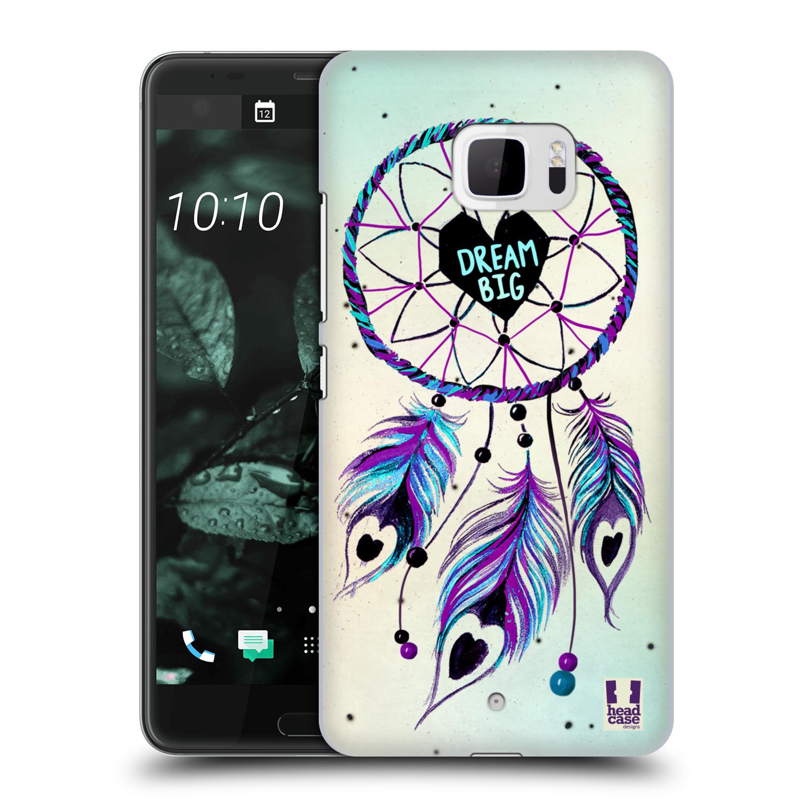 Plastové pouzdro na mobil HTC U Ultra Head Case - Lapač Assorted Dream Big Srdce