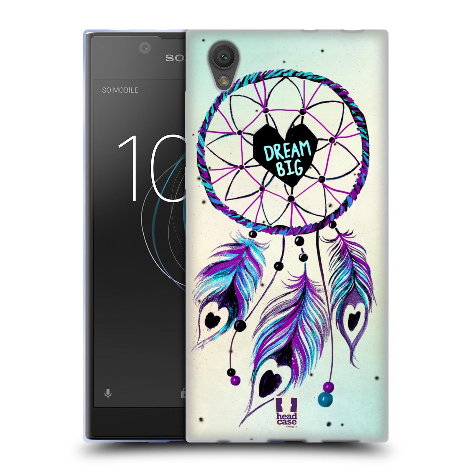 Silikonové pouzdro na mobil Sony Xperia L1 - Head Case - Lapač Assorted Dream Big Srdce