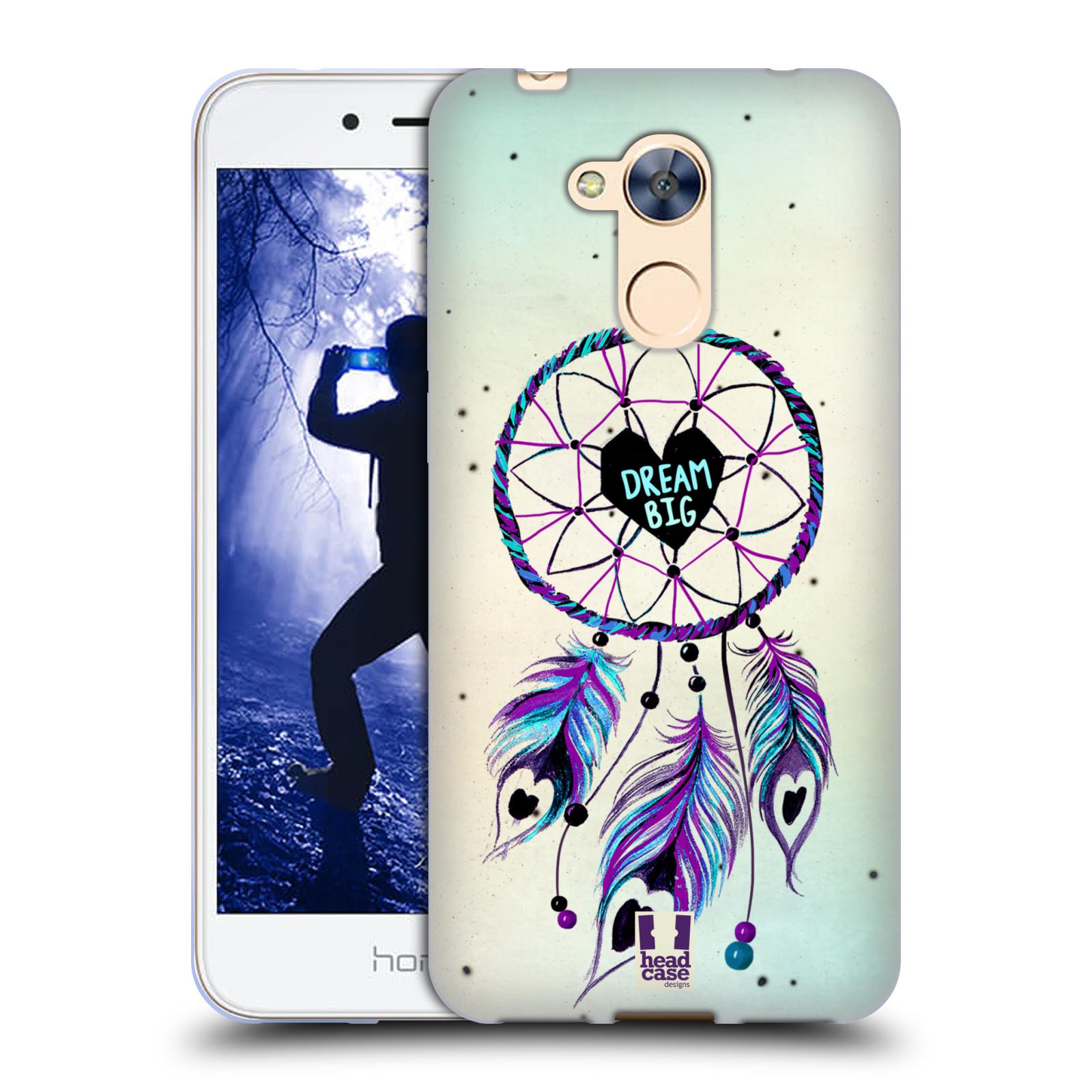 Silikonové pouzdro na mobil Honor 6A - Head Case - Lapač Assorted Dream Big Srdce