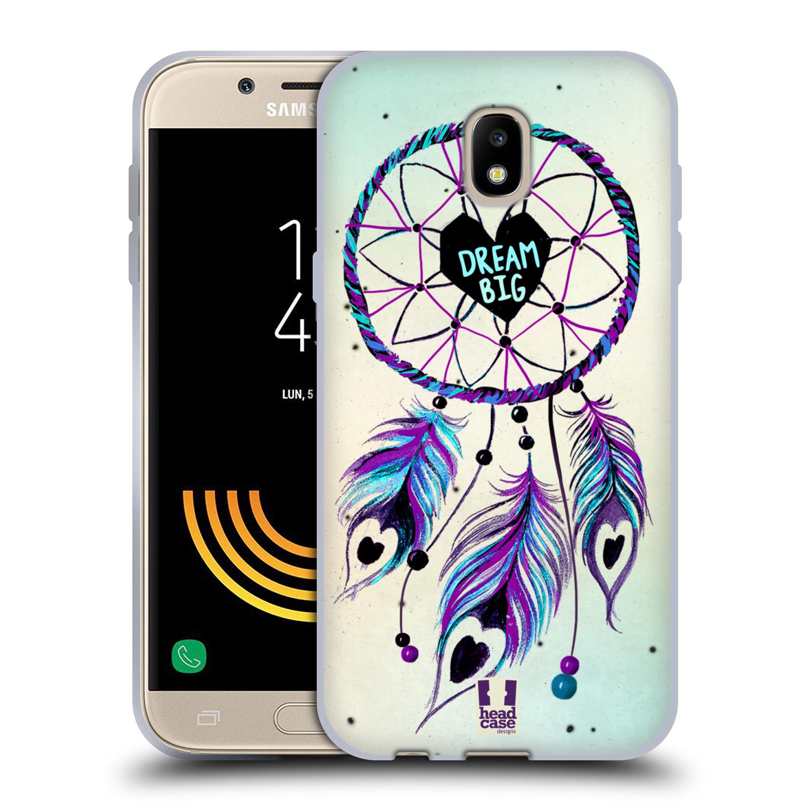 Silikonové pouzdro na mobil Samsung Galaxy J5 (2017) - Head Case - Lapač Assorted Dream Big Srdce