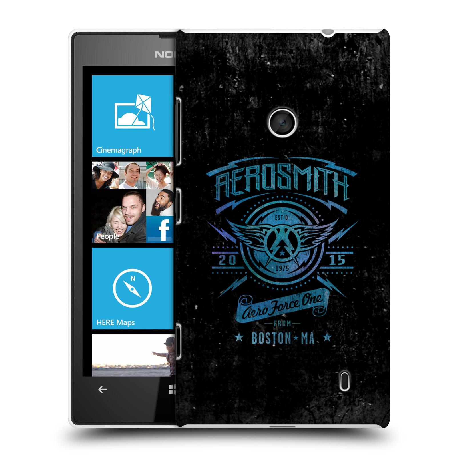 Plastové pouzdro na mobil Nokia Lumia 520 HEAD CASE - Aerosmith - Aero Force One