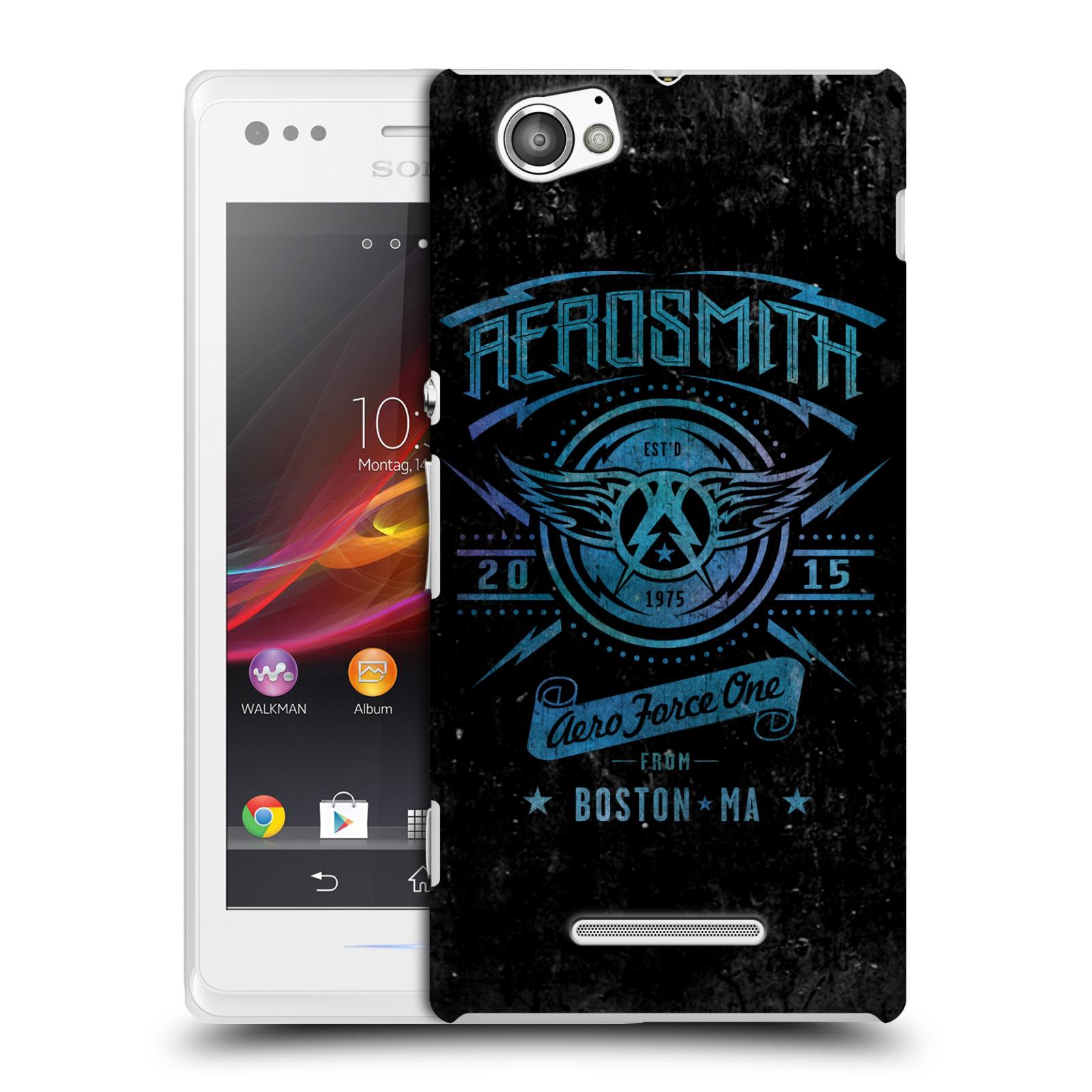 Plastové pouzdro na mobil Sony Xperia M C1905 HEAD CASE - Aerosmith - Aero Force One