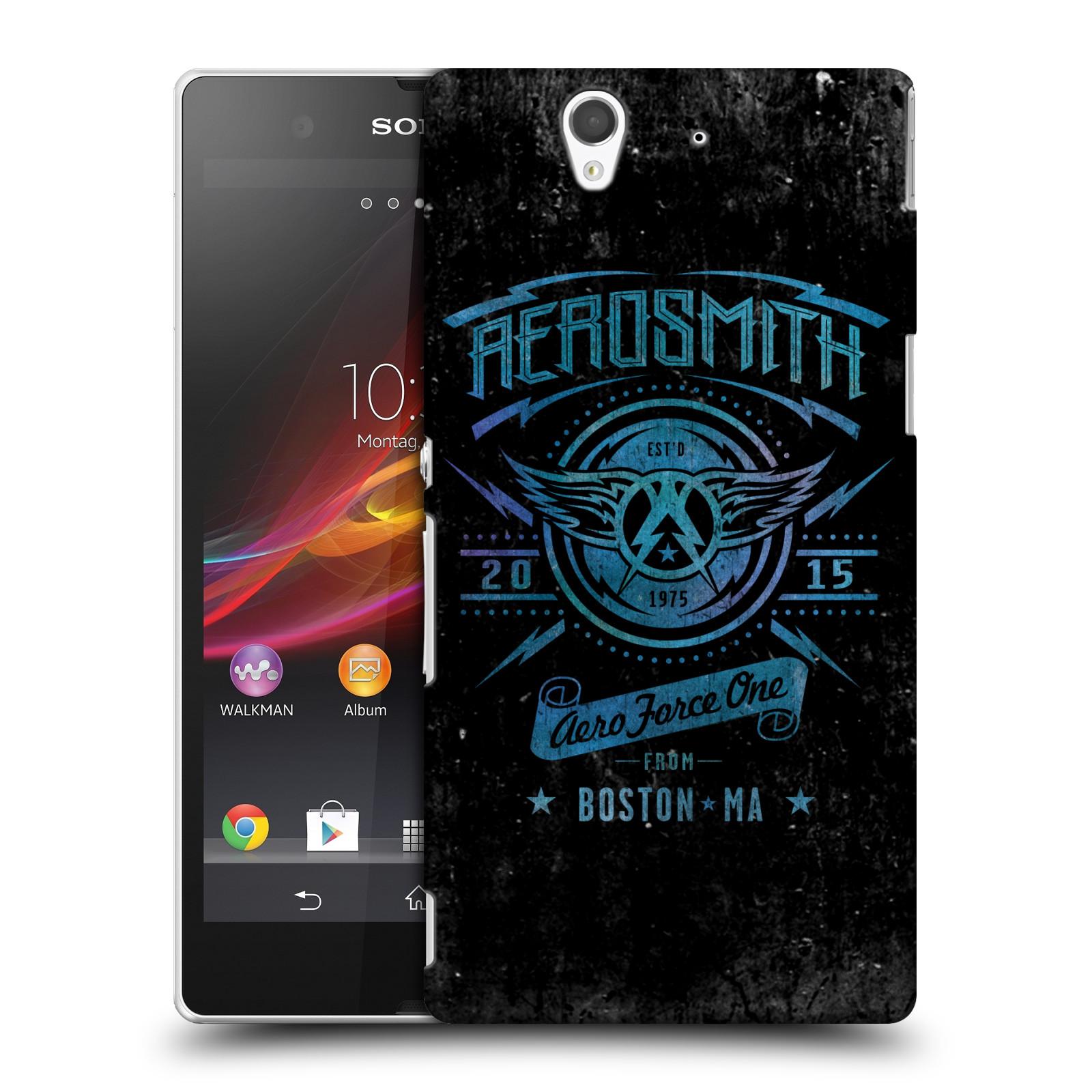 Plastové pouzdro na mobil Sony Xperia Z C6603 HEAD CASE - Aerosmith - Aero Force One