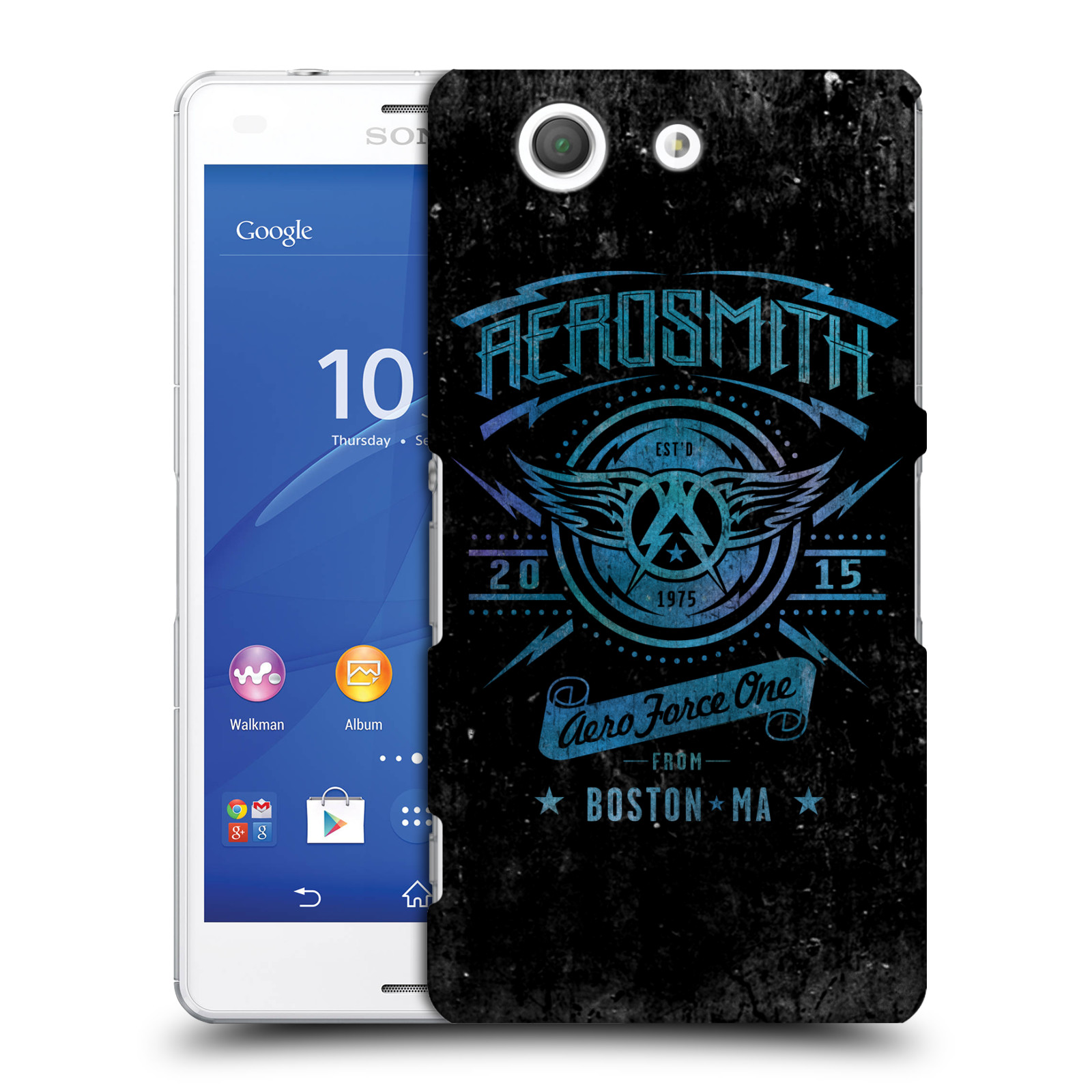 Plastové pouzdro na mobil Sony Xperia Z3 Compact D5803 HEAD CASE - Aerosmith - Aero Force One