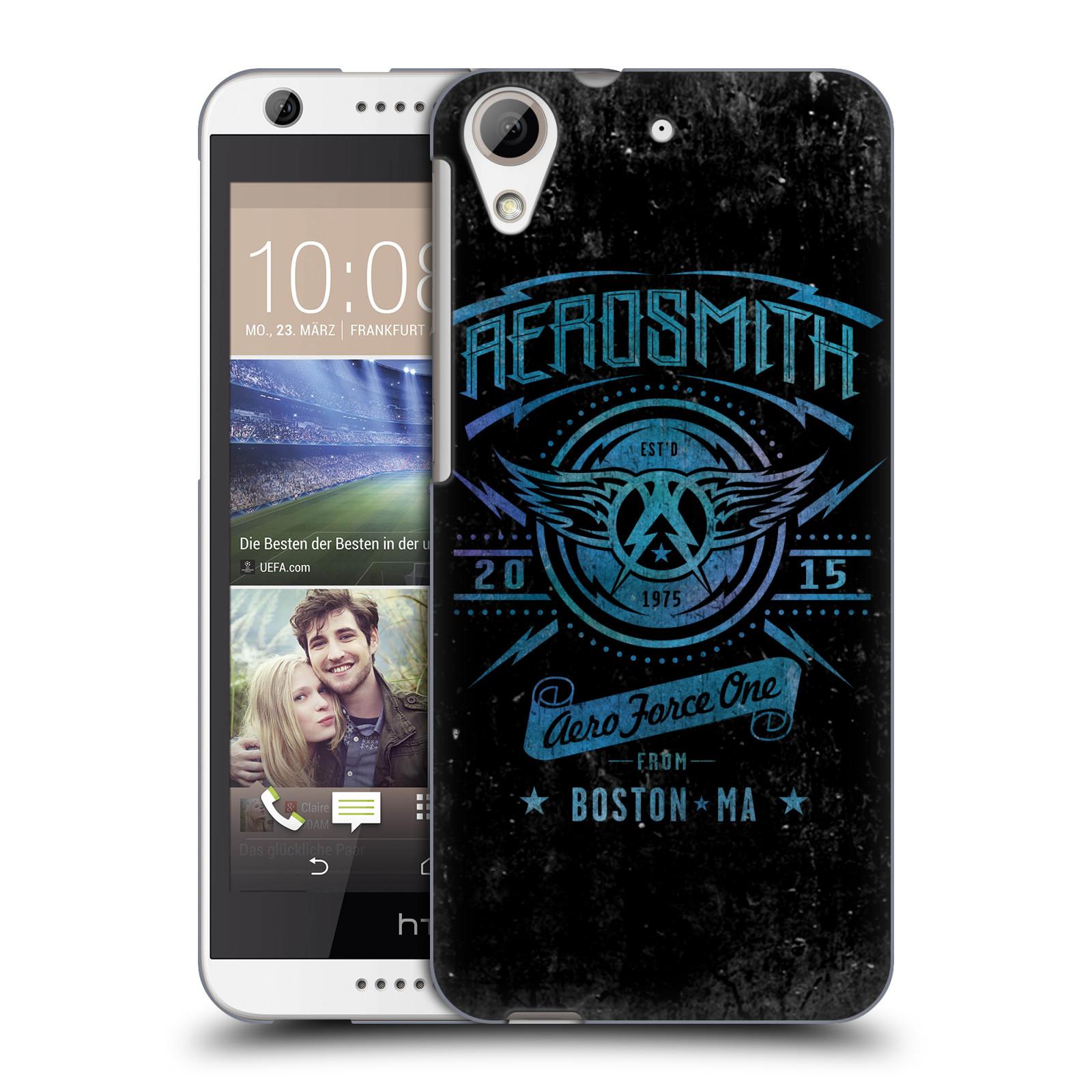 Plastové pouzdro na mobil HTC Desire 626 / 626G HEAD CASE - Aerosmith - Aero Force One (Plastový kryt či obal na mobilní telefon s licencovaným motivem Aerosmith pro HTC Desire 626G Dual SIM a HTC Desire 626)