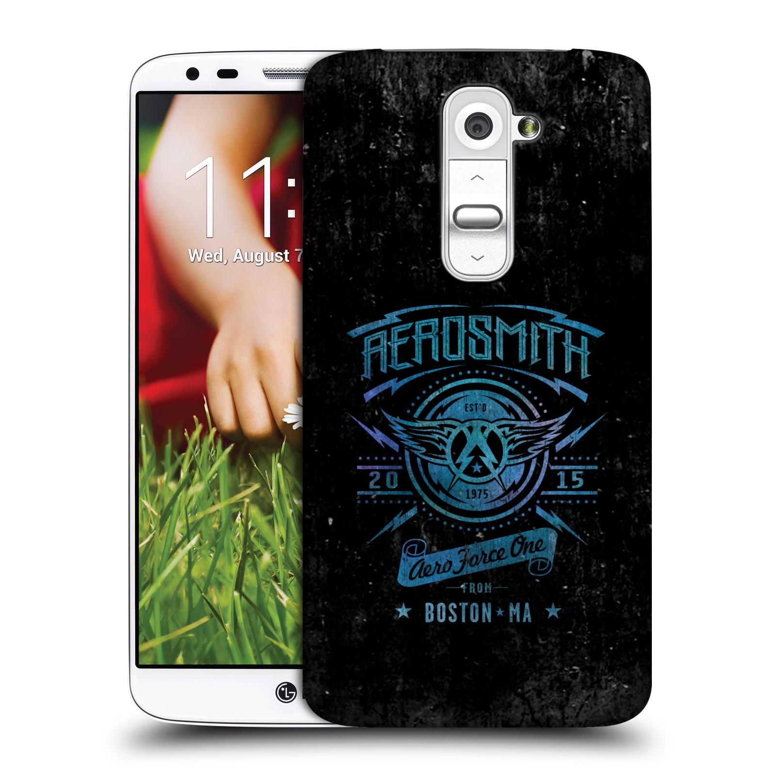 Plastové pouzdro na mobil LG G2 HEAD CASE - Aerosmith - Aero Force One