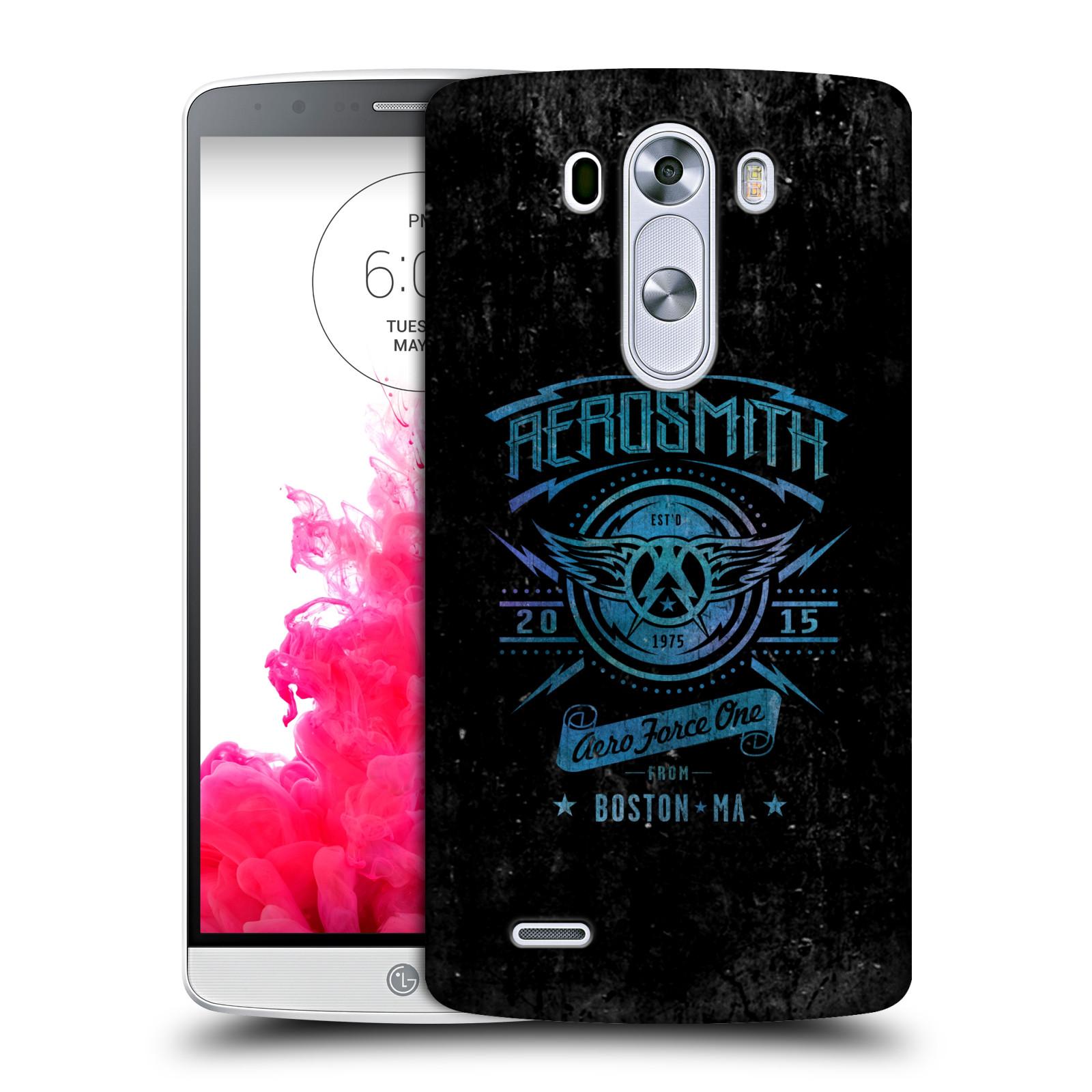 Plastové pouzdro na mobil LG G3 HEAD CASE - Aerosmith - Aero Force One