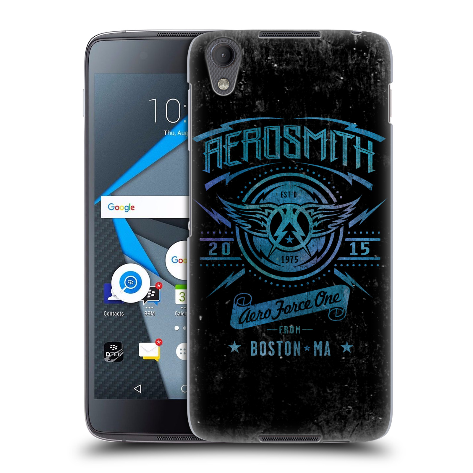 Plastové pouzdro na mobil Blackberry DTEK50 (Neon) - Head Case - Aerosmith - Aero Force One