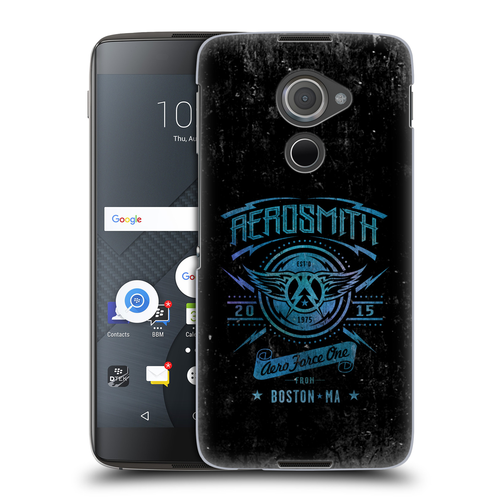 Plastové pouzdro na mobil Blackberry DTEK60 (Argon) - Head Case - Aerosmith - Aero Force One