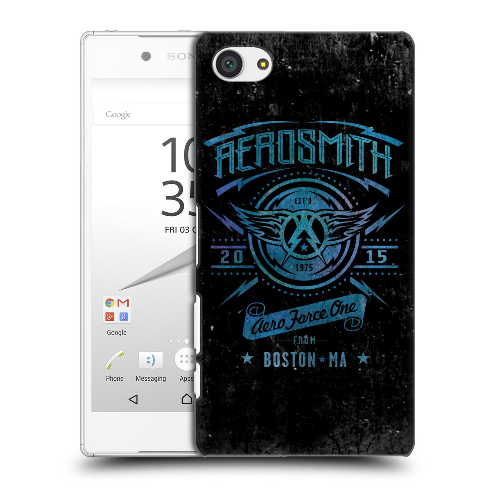 Plastové pouzdro na mobil Sony Xperia Z5 Compact HEAD CASE - Aerosmith - Aero Force One