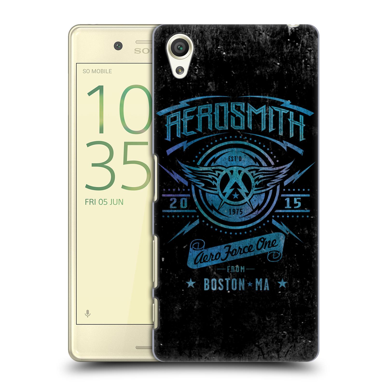 Plastové pouzdro na mobil Sony Xperia X HEAD CASE - Aerosmith - Aero Force One