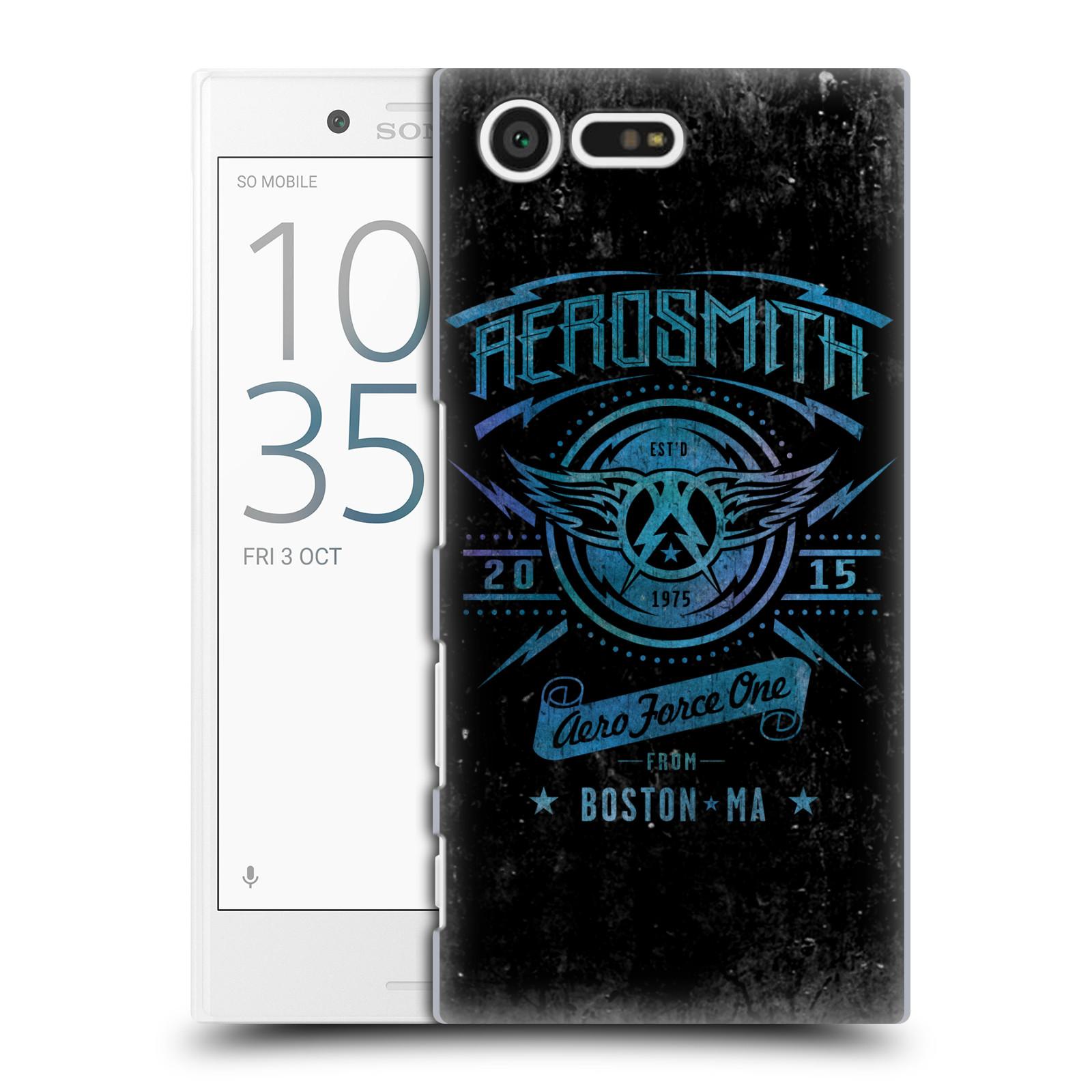 Plastové pouzdro na mobil Sony Xperia X Compact HEAD CASE - Aerosmith - Aero Force One