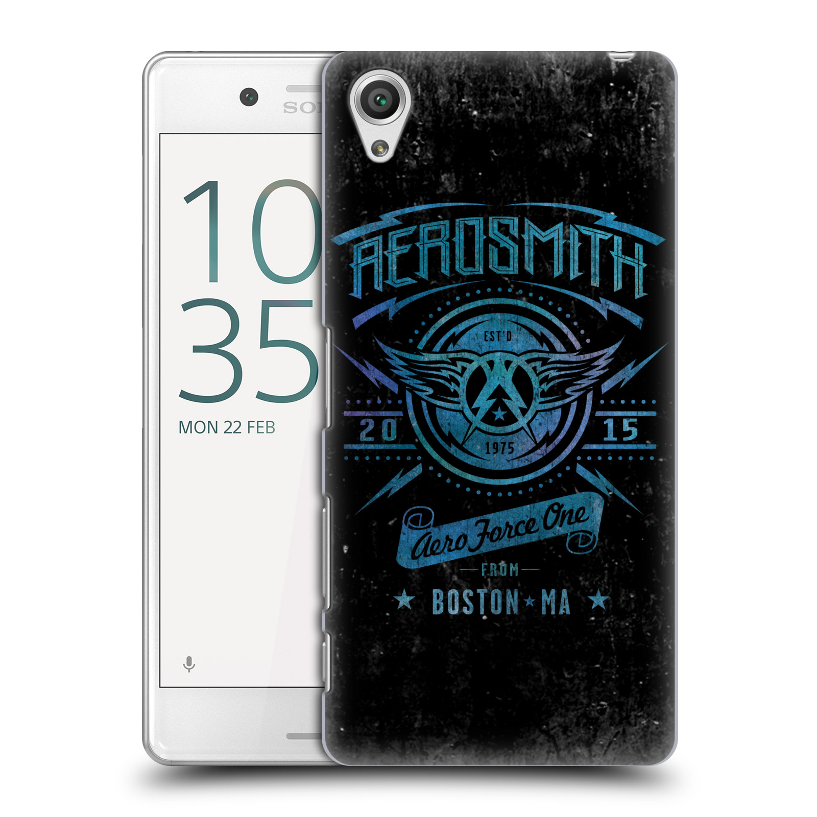 Plastové pouzdro na mobil Sony Xperia X Performance HEAD CASE - Aerosmith - Aero Force One