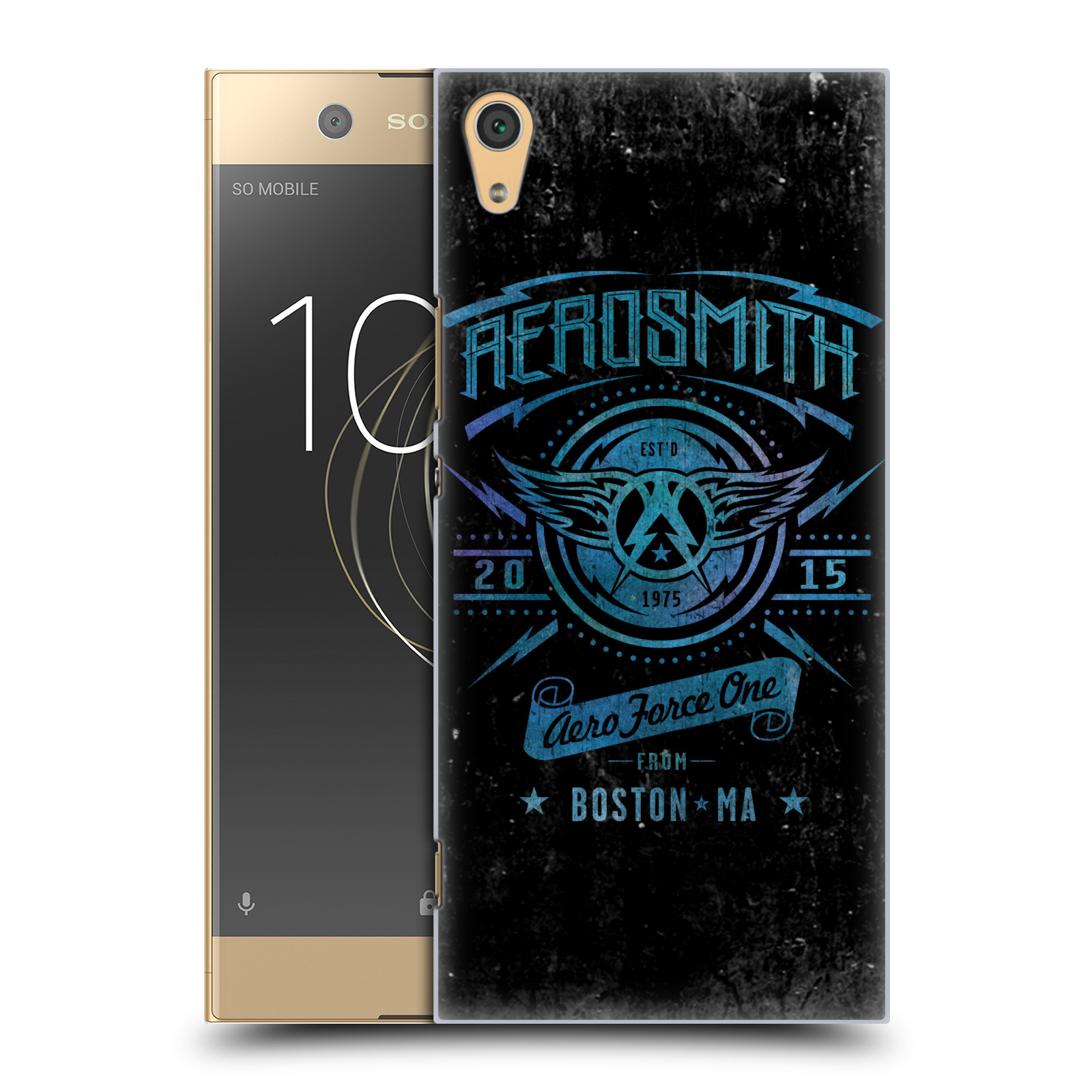 Plastové pouzdro na mobil Sony Xperia XA1 Ultra - Head Case - Aerosmith - Aero Force One