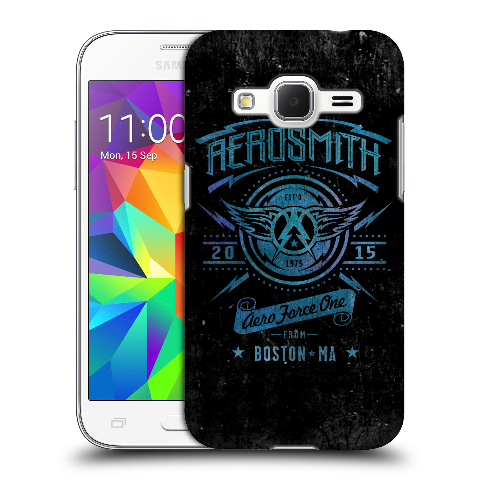 Plastové pouzdro na mobil Samsung Galaxy Core Prime VE HEAD CASE - Aerosmith - Aero Force One