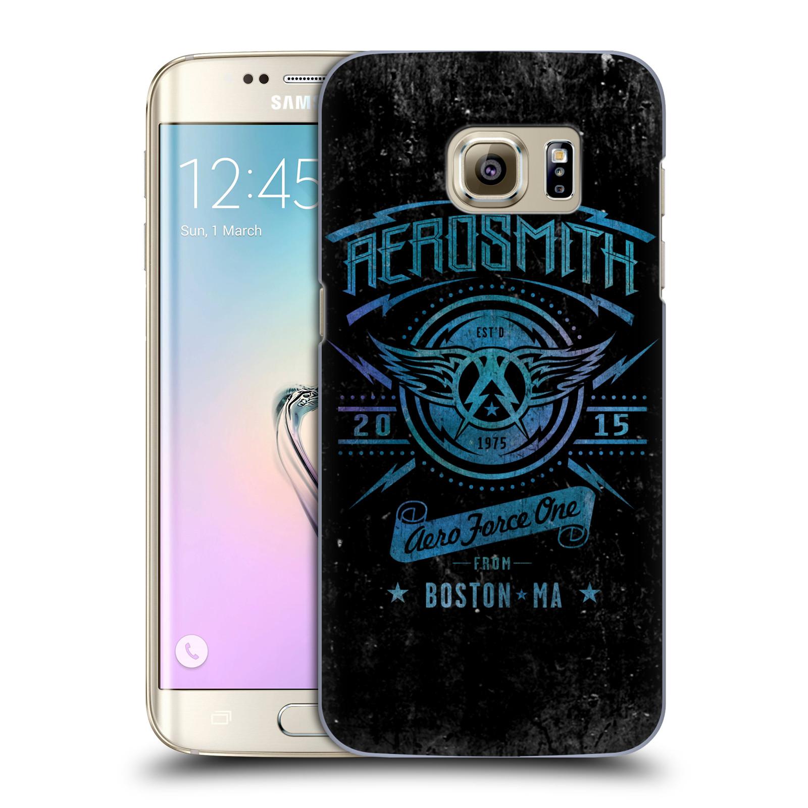Plastové pouzdro na mobil Samsung Galaxy S7 Edge HEAD CASE - Aerosmith - Aero Force One (Plastový kryt či obal na mobilní telefon s licencovaným motivem Aerosmith pro Samsung Galaxy S7 Edge SM-G935F)