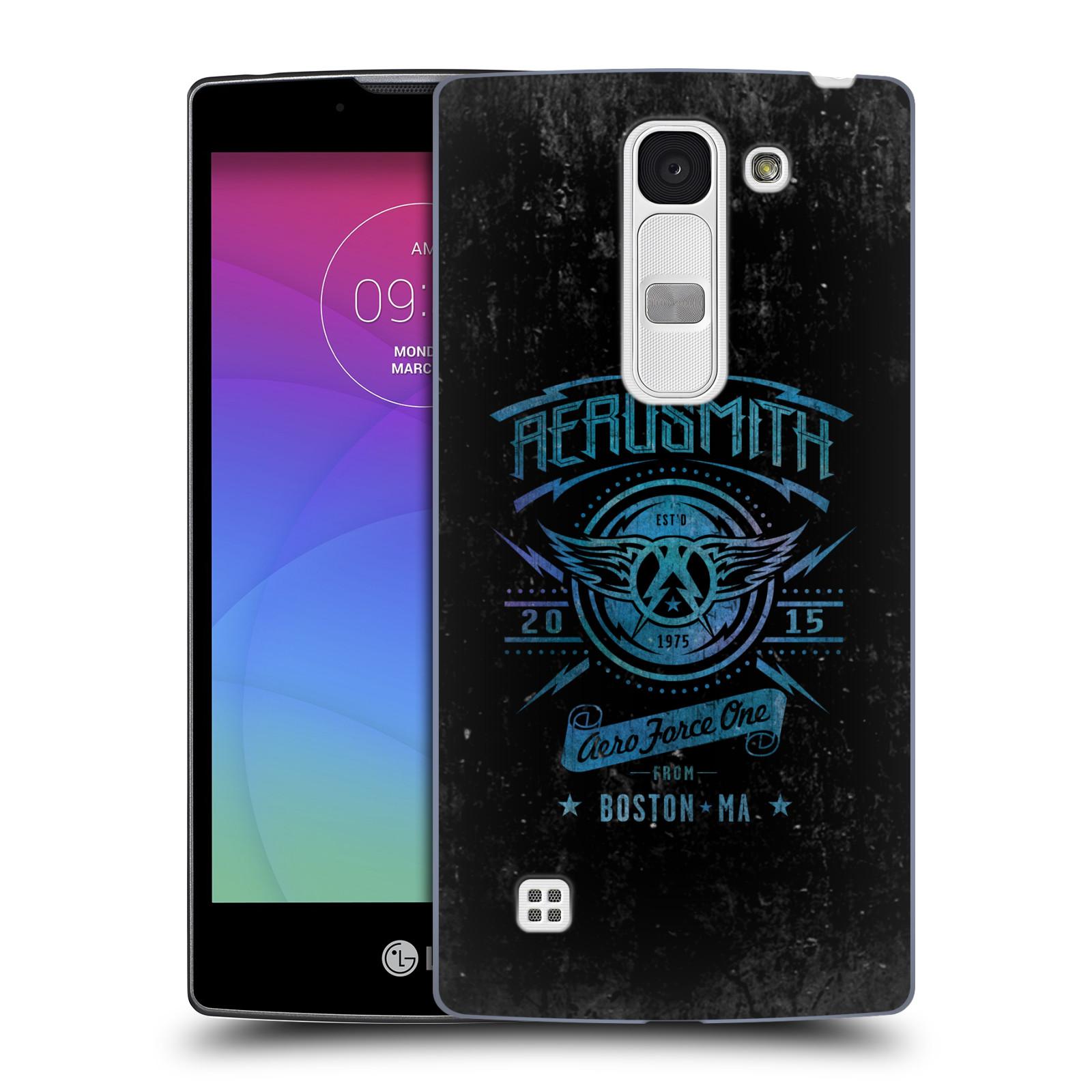 Plastové pouzdro na mobil LG Spirit LTE HEAD CASE - Aerosmith - Aero Force One