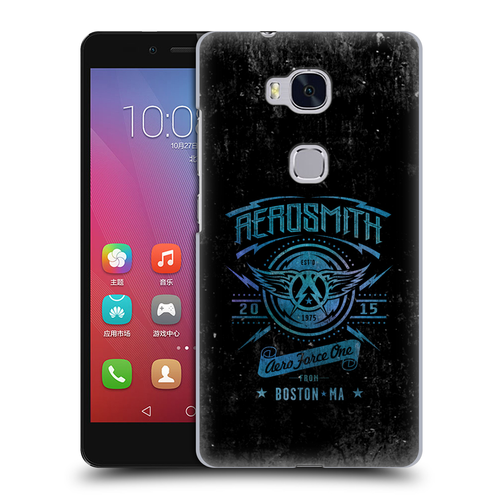 Plastové pouzdro na mobil Honor 5X HEAD CASE - Aerosmith - Aero Force One