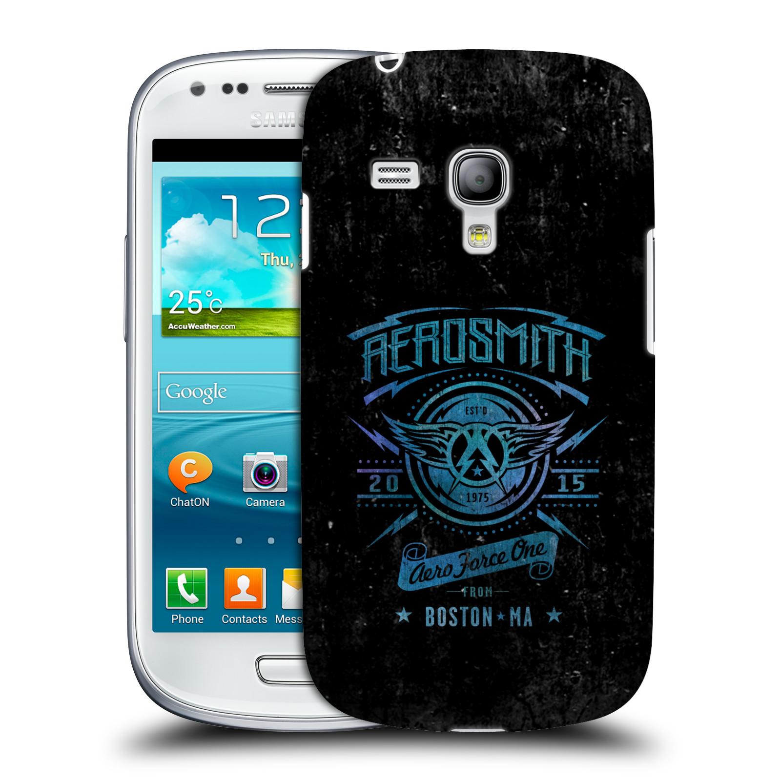 Silikonové pouzdro na mobil Samsung Galaxy S III Mini VE HEAD CASE - Aerosmith - Aero Force One (Plastový kryt či obal na mobilní telefon s licencovaným motivem Aerosmith pro Samsung Galaxy S3 Mini VE GT-i8200)