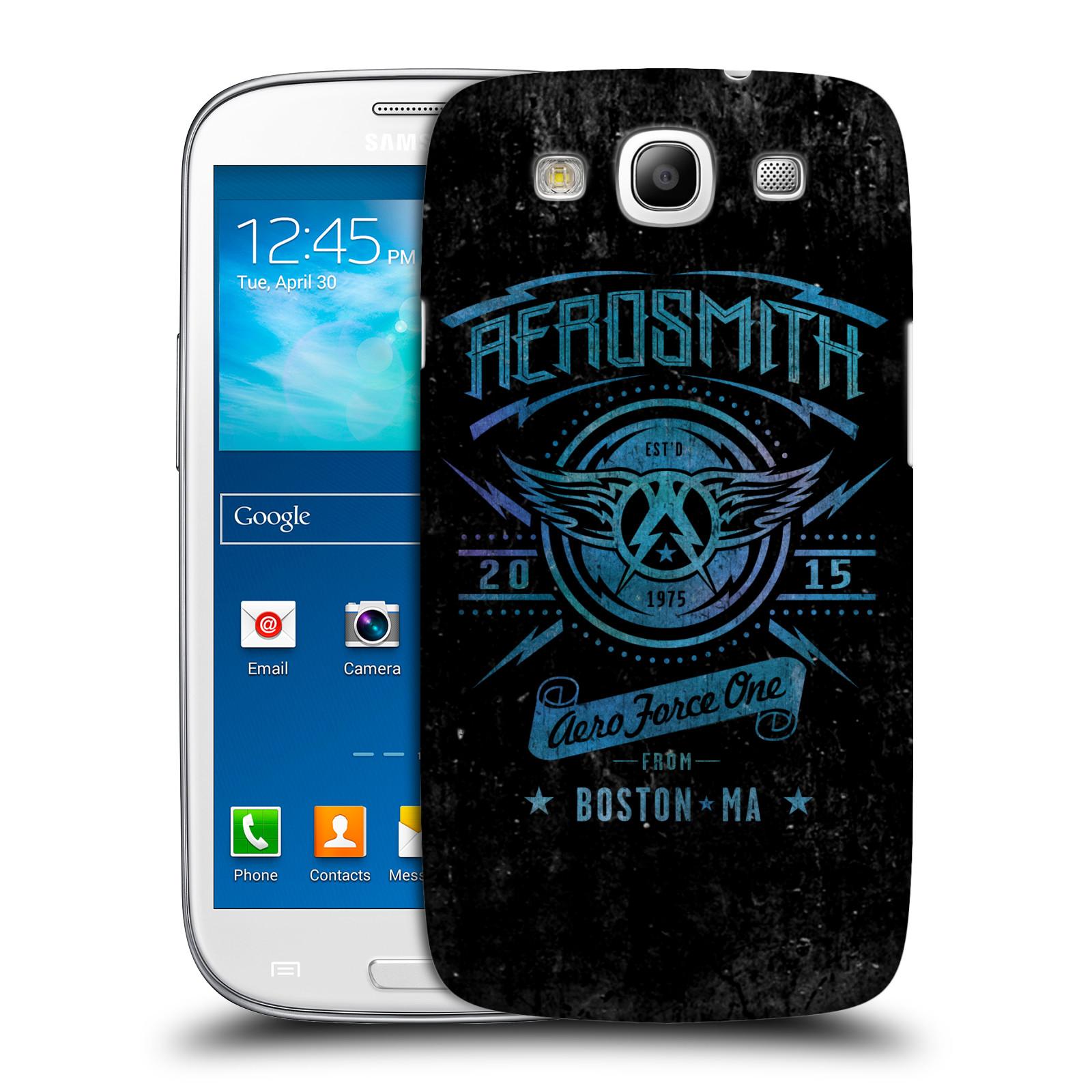 Plastové pouzdro na mobil Samsung Galaxy S III HEAD CASE - Aerosmith - Aero Force One
