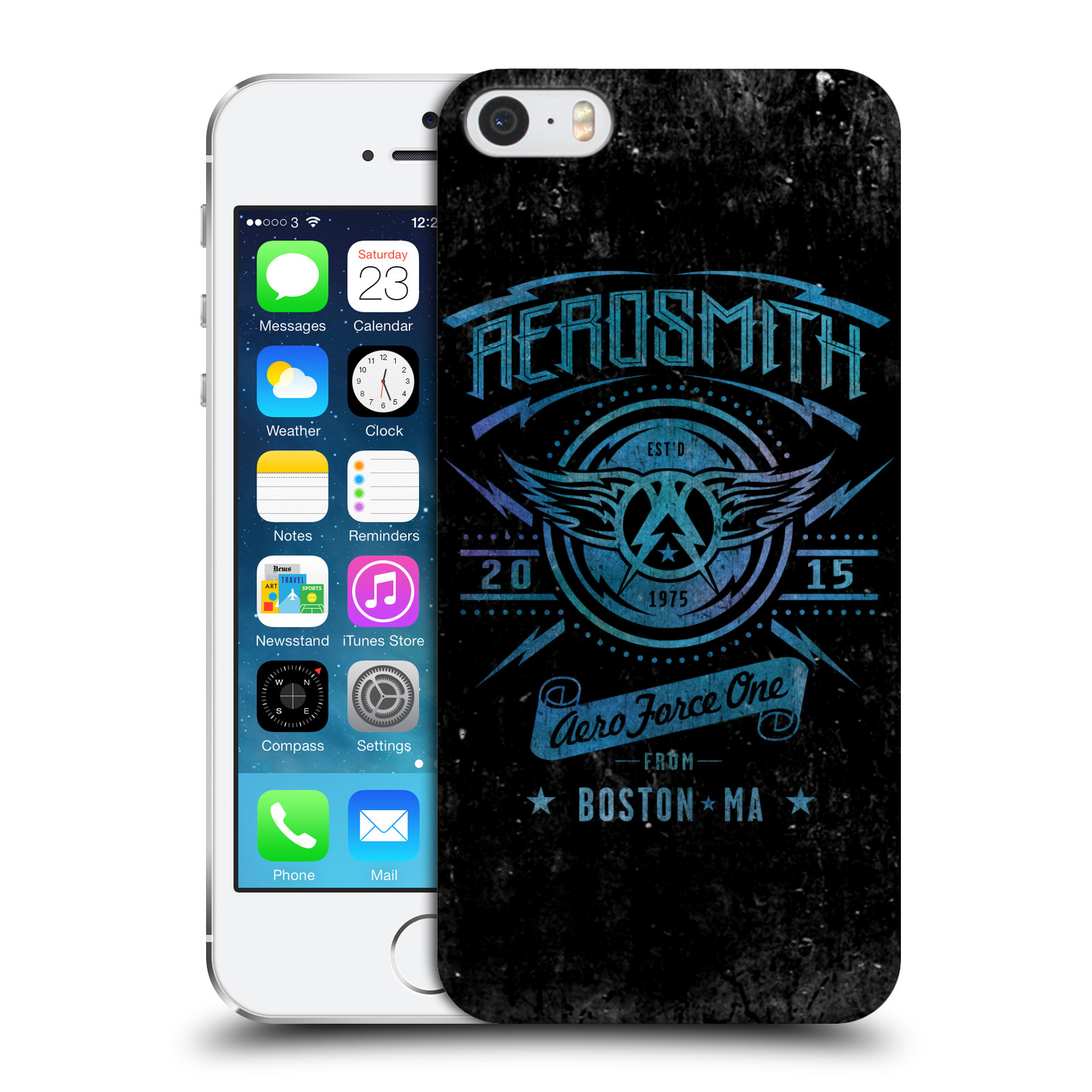 Plastové pouzdro na mobil Apple iPhone SE, 5 a 5S HEAD CASE - Aerosmith - Aero Force One