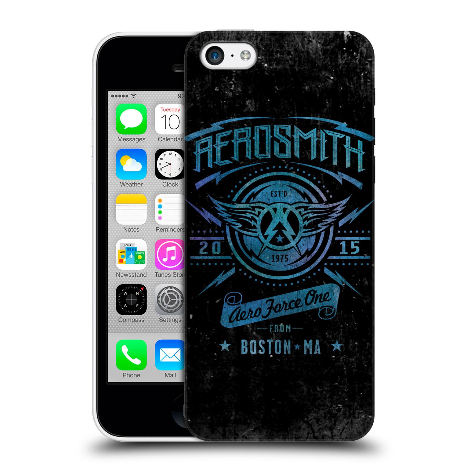 Plastové pouzdro na mobil Apple iPhone 5C HEAD CASE - Aerosmith - Aero Force One