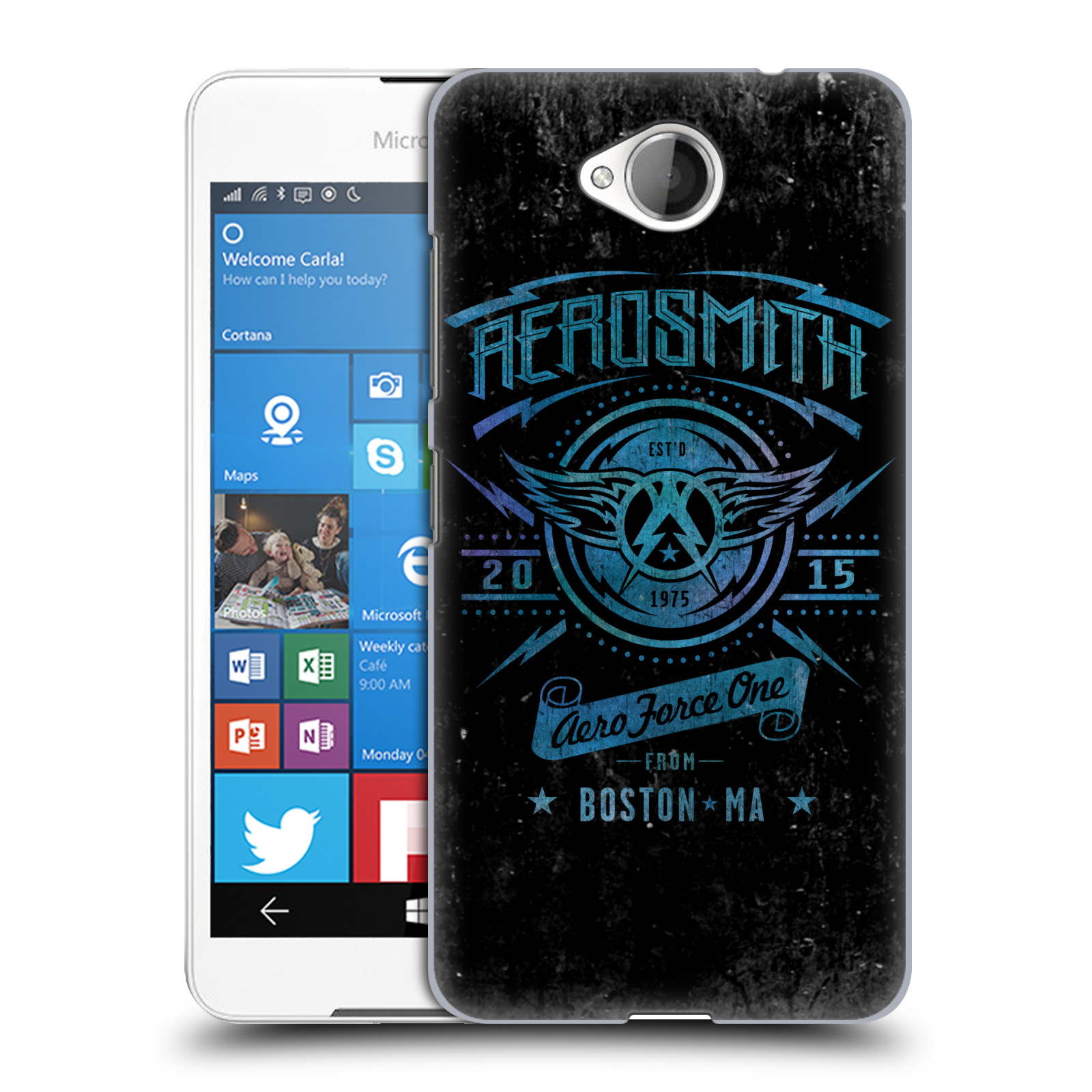Plastové pouzdro na mobil Microsoft Lumia 650 HEAD CASE - Aerosmith - Aero Force One