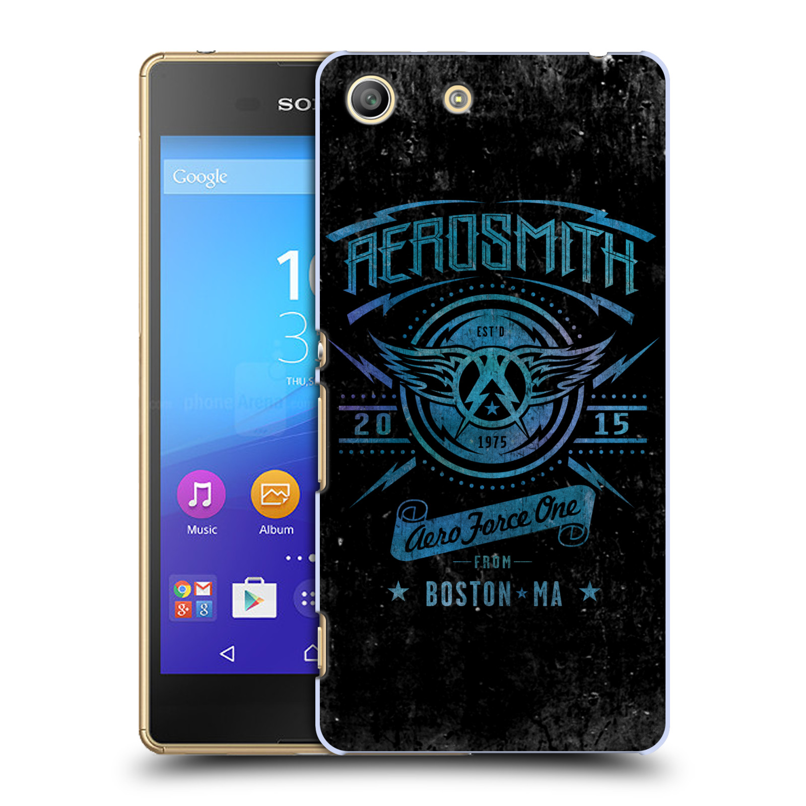 Plastové pouzdro na mobil Sony Xperia M5 HEAD CASE - Aerosmith - Aero Force One