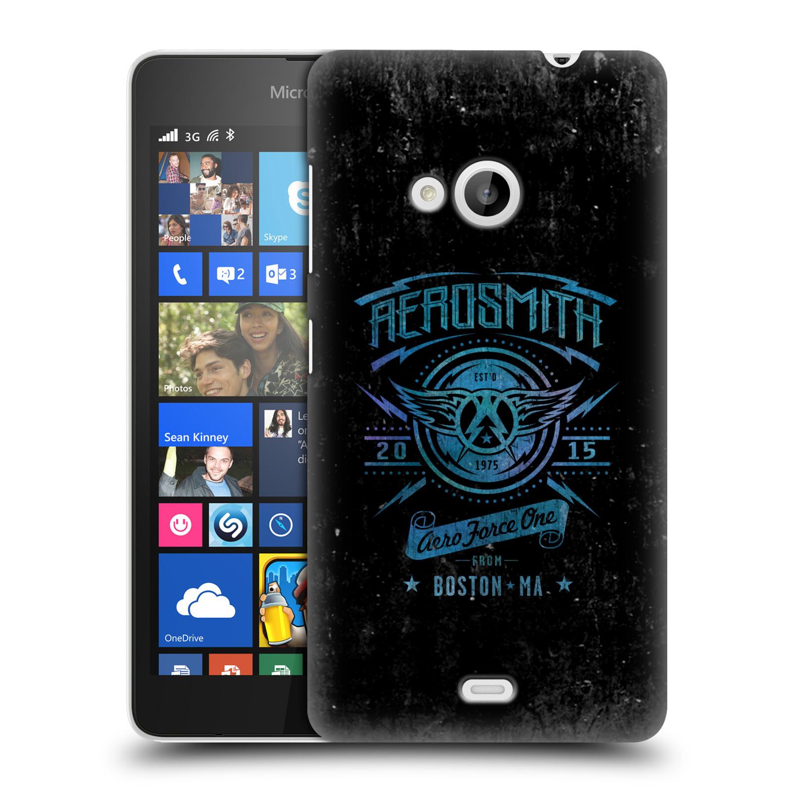 Plastové pouzdro na mobil Microsoft Lumia 535 HEAD CASE - Aerosmith - Aero Force One