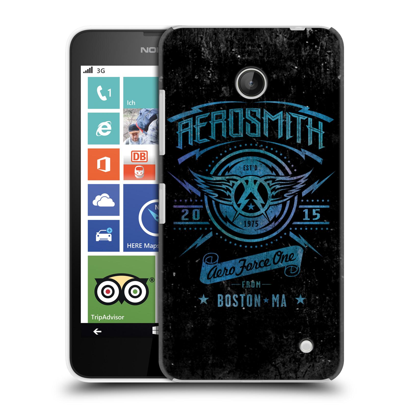 Plastové pouzdro na mobil Nokia Lumia 630 HEAD CASE - Aerosmith - Aero Force One